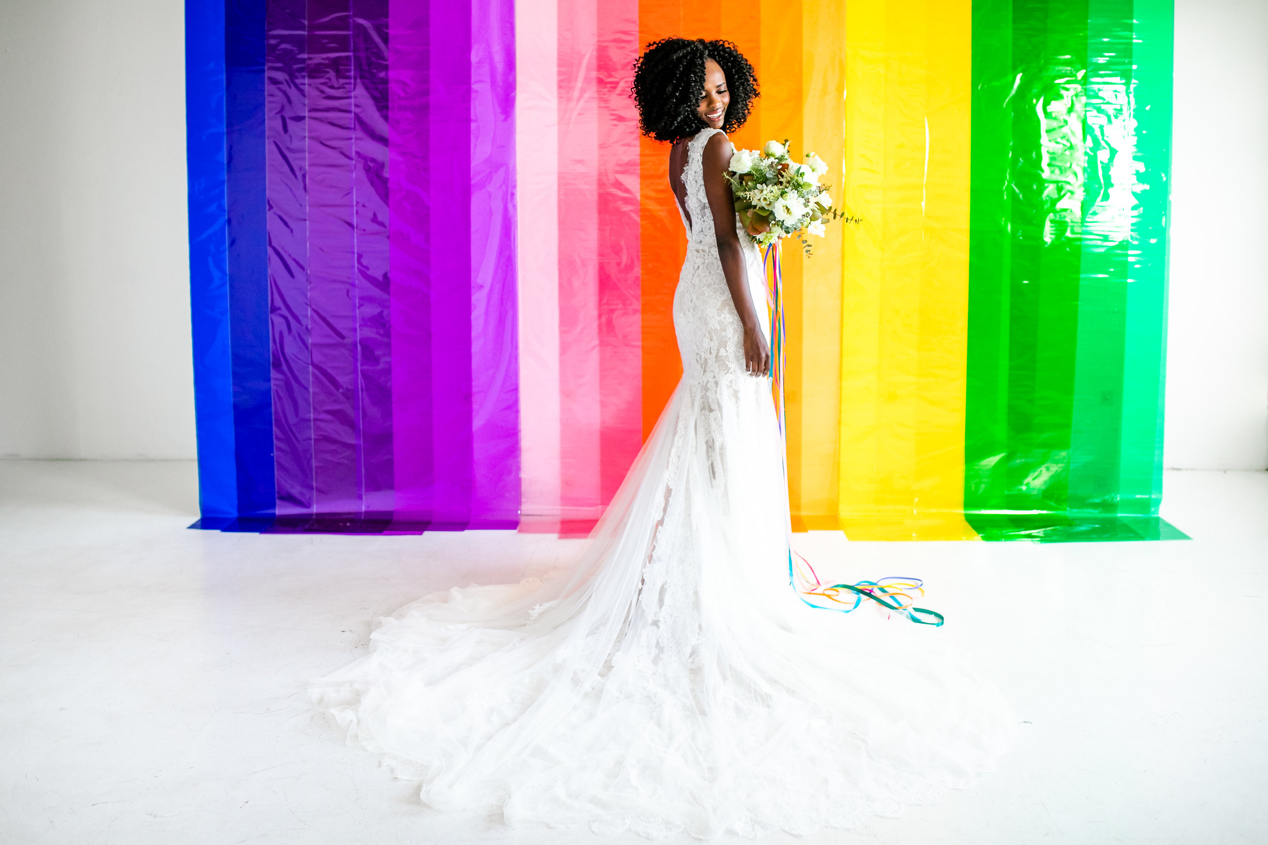 Colorful Striped Wedding Inspo
