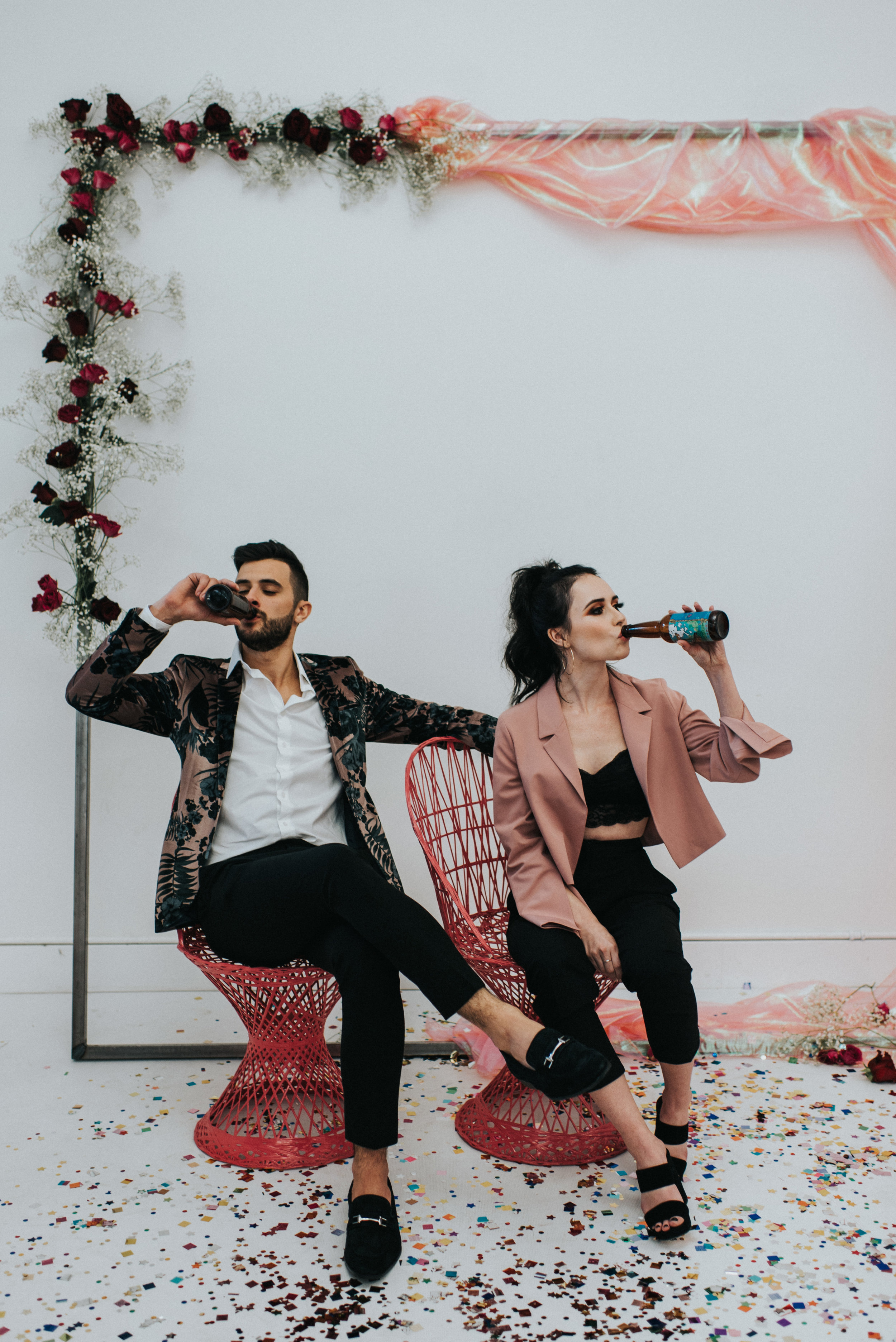 Millennial Pink Inspired Wedding - Groomslady