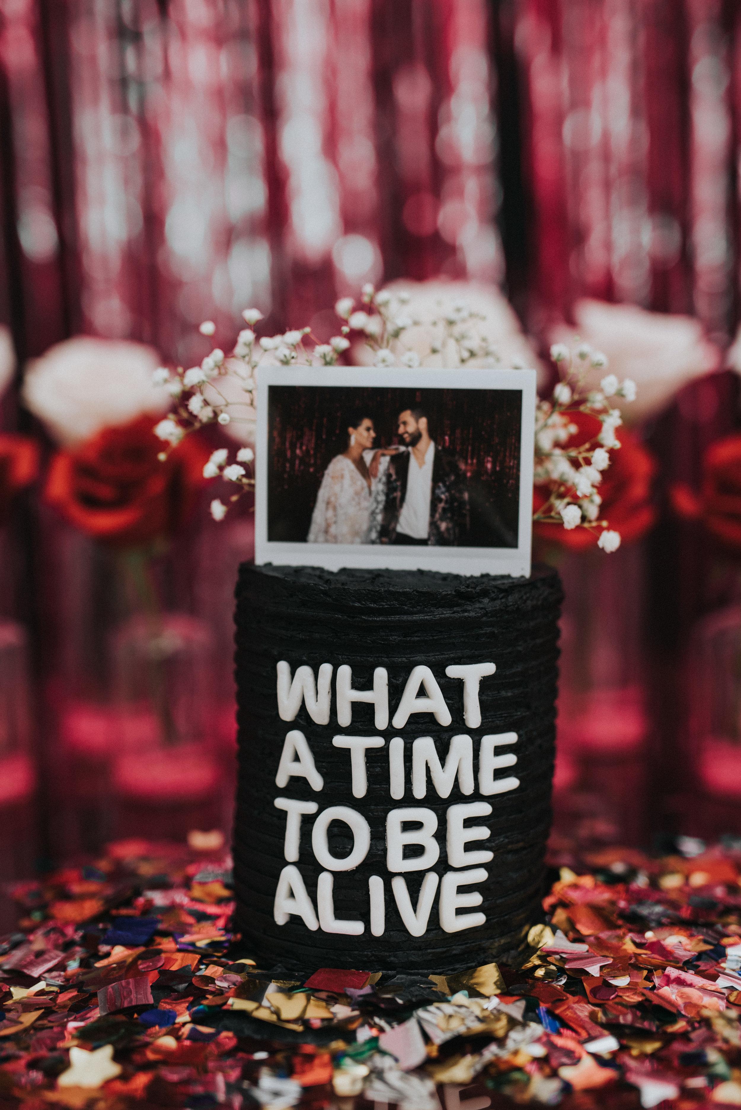 Millennial Pink Inspired Wedding - Drake on Cake