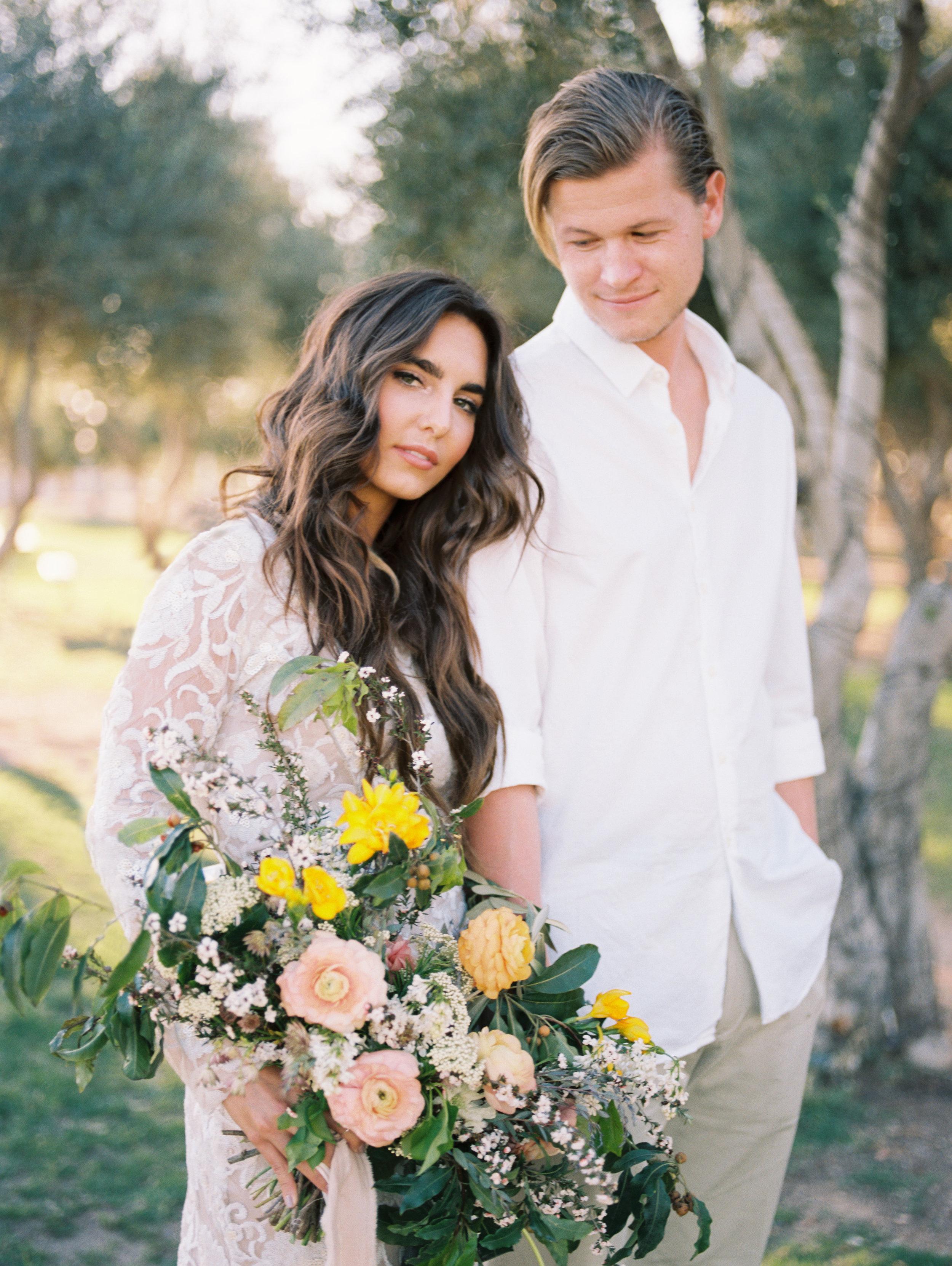 Olive Mill Wedding Inspiration