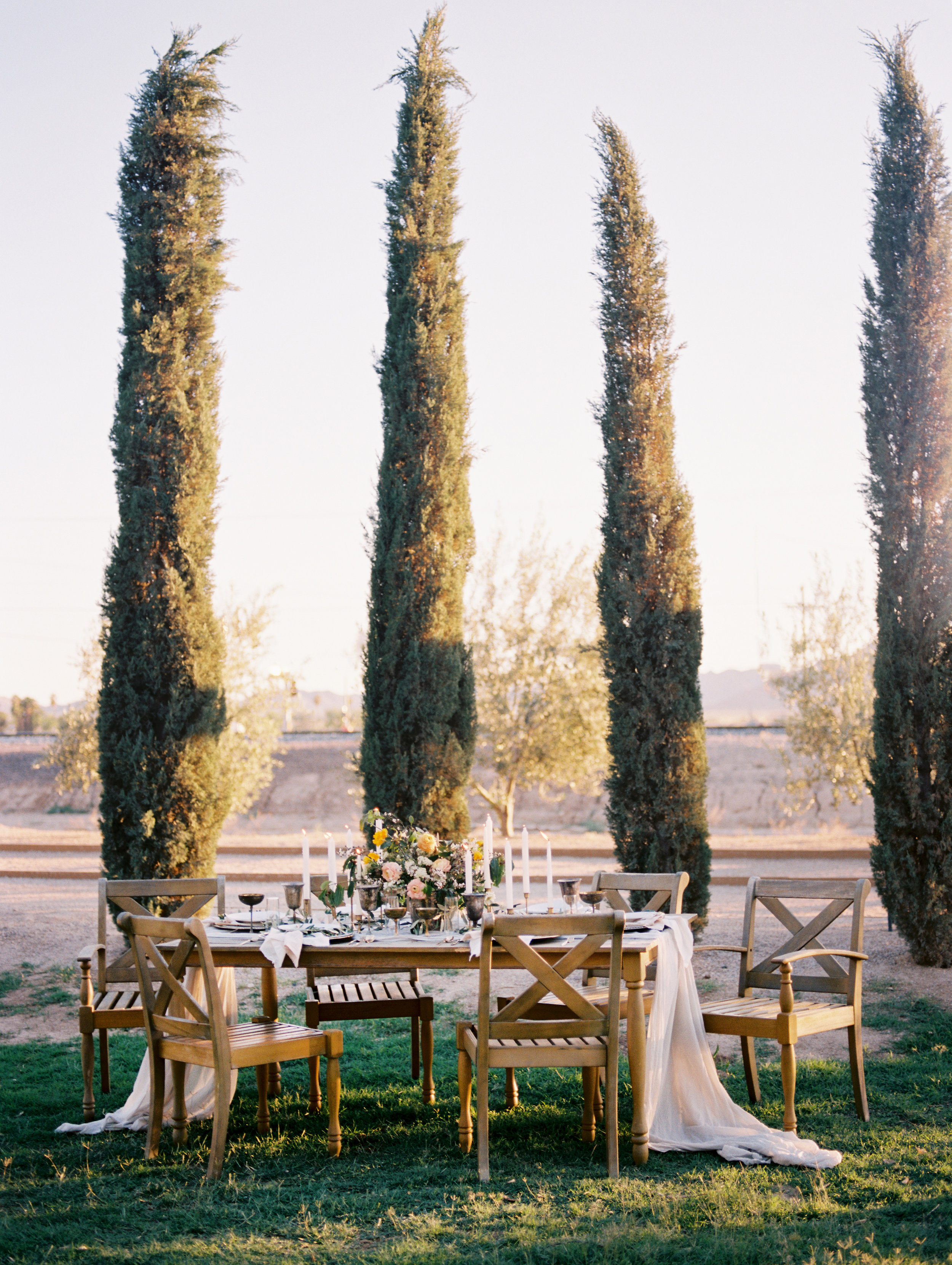 Olive Mill Wedding Inspiration - Reception