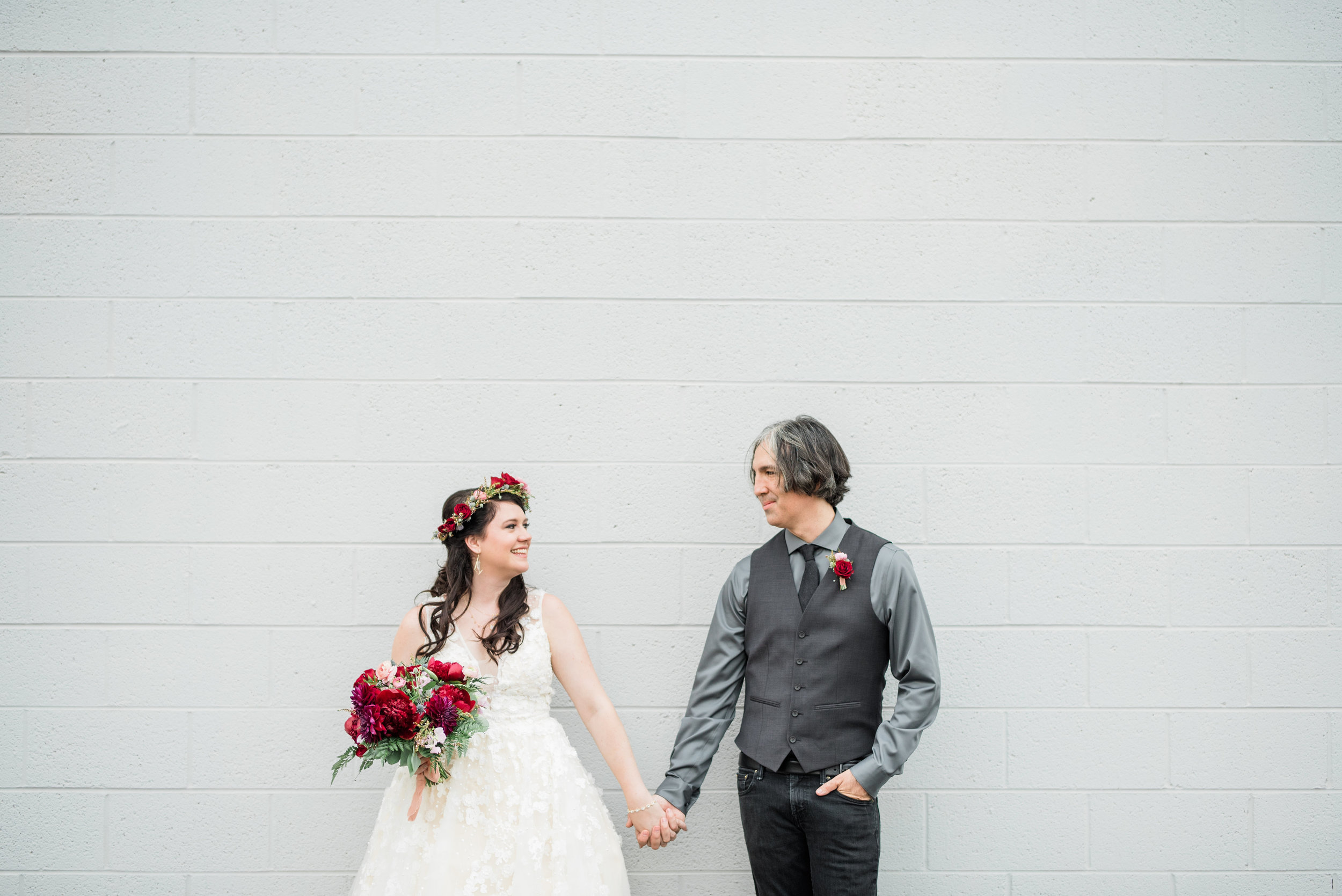 Book Inspired Wedding in Phoenix - Bride and Groom