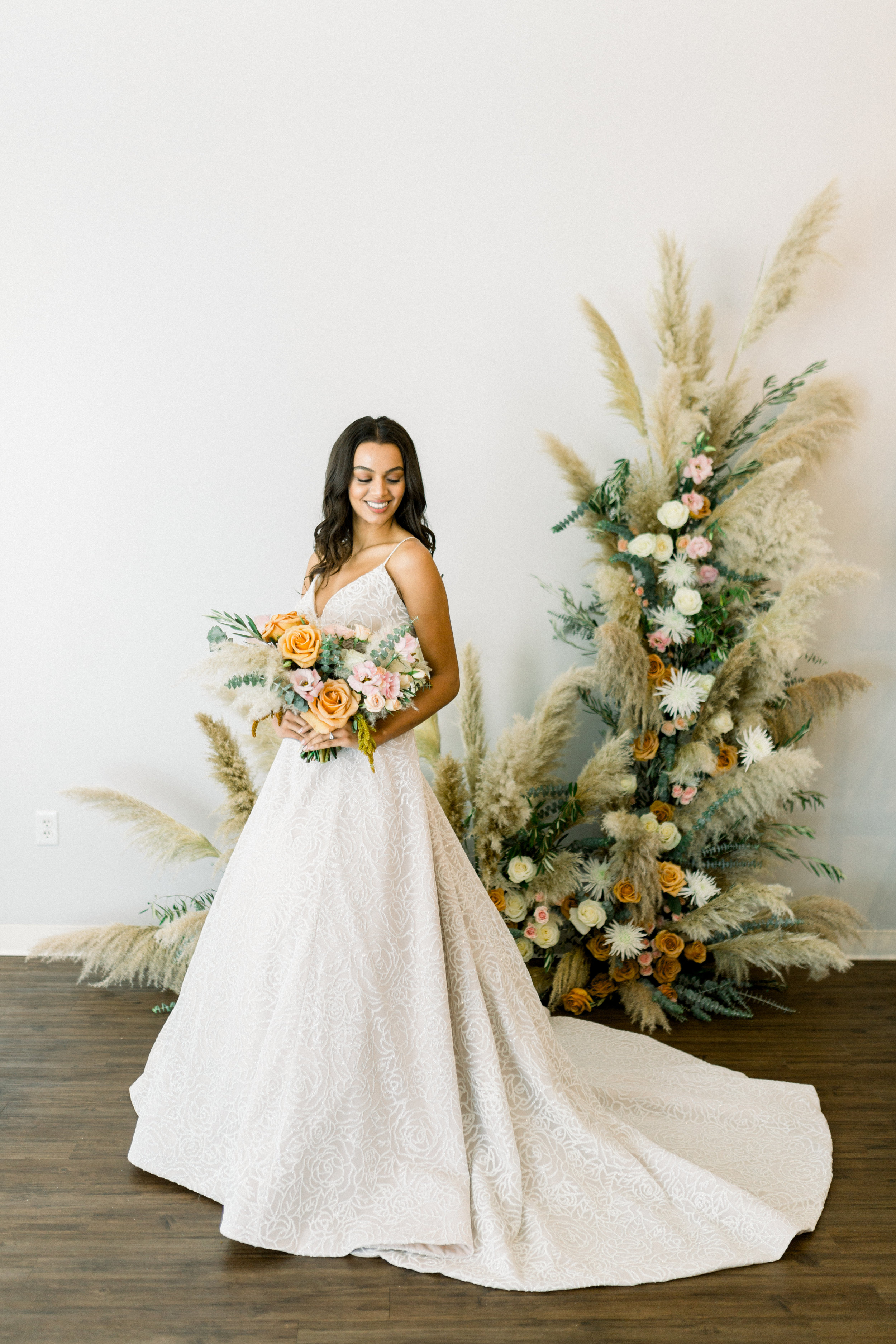 Pampas Grass Wedding Inspiration