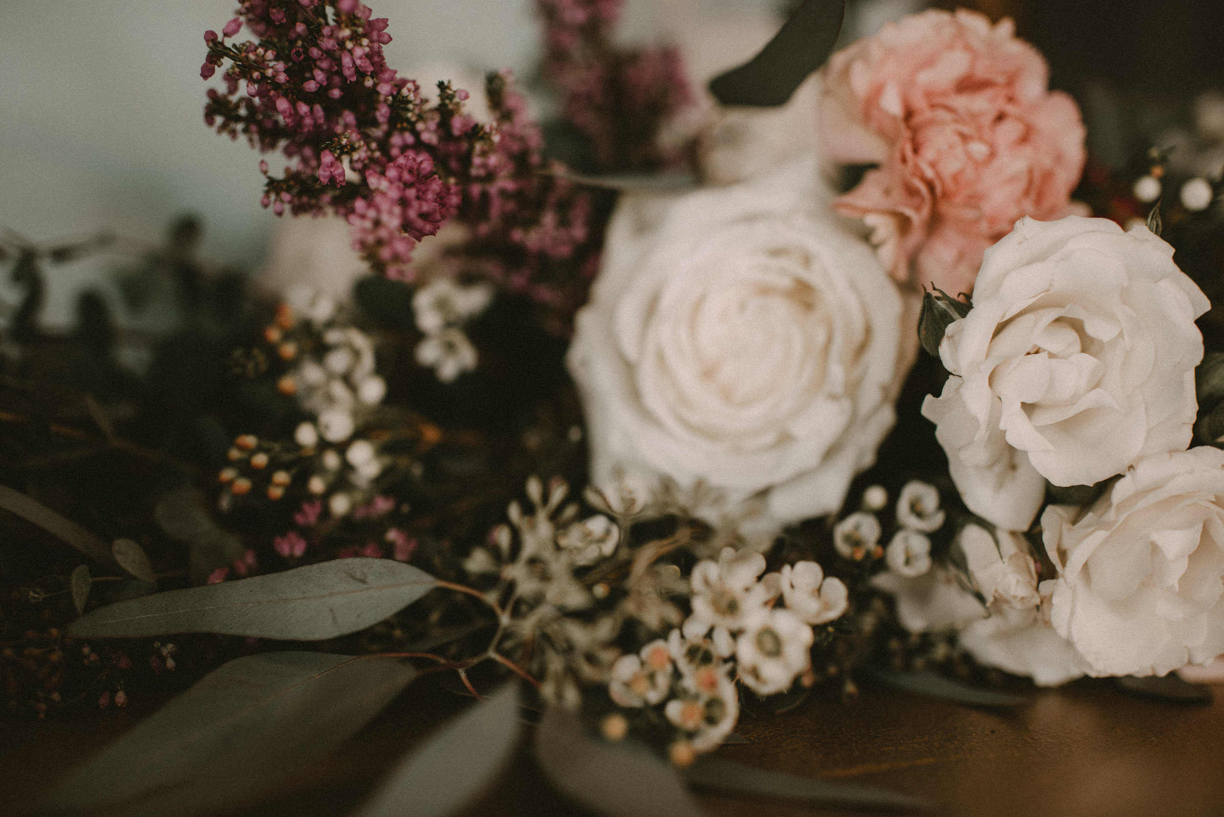 Moody Upstate New York Wedding - Floral Inspiration