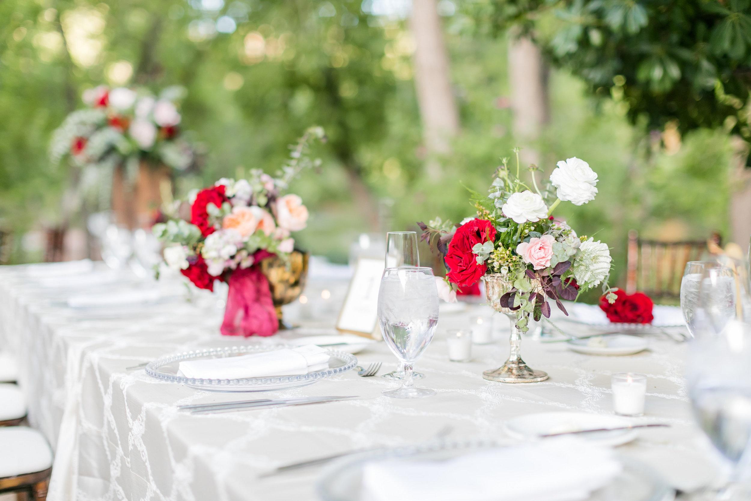 Burgundy and Blush Wedding at L'Auberge de Sedona