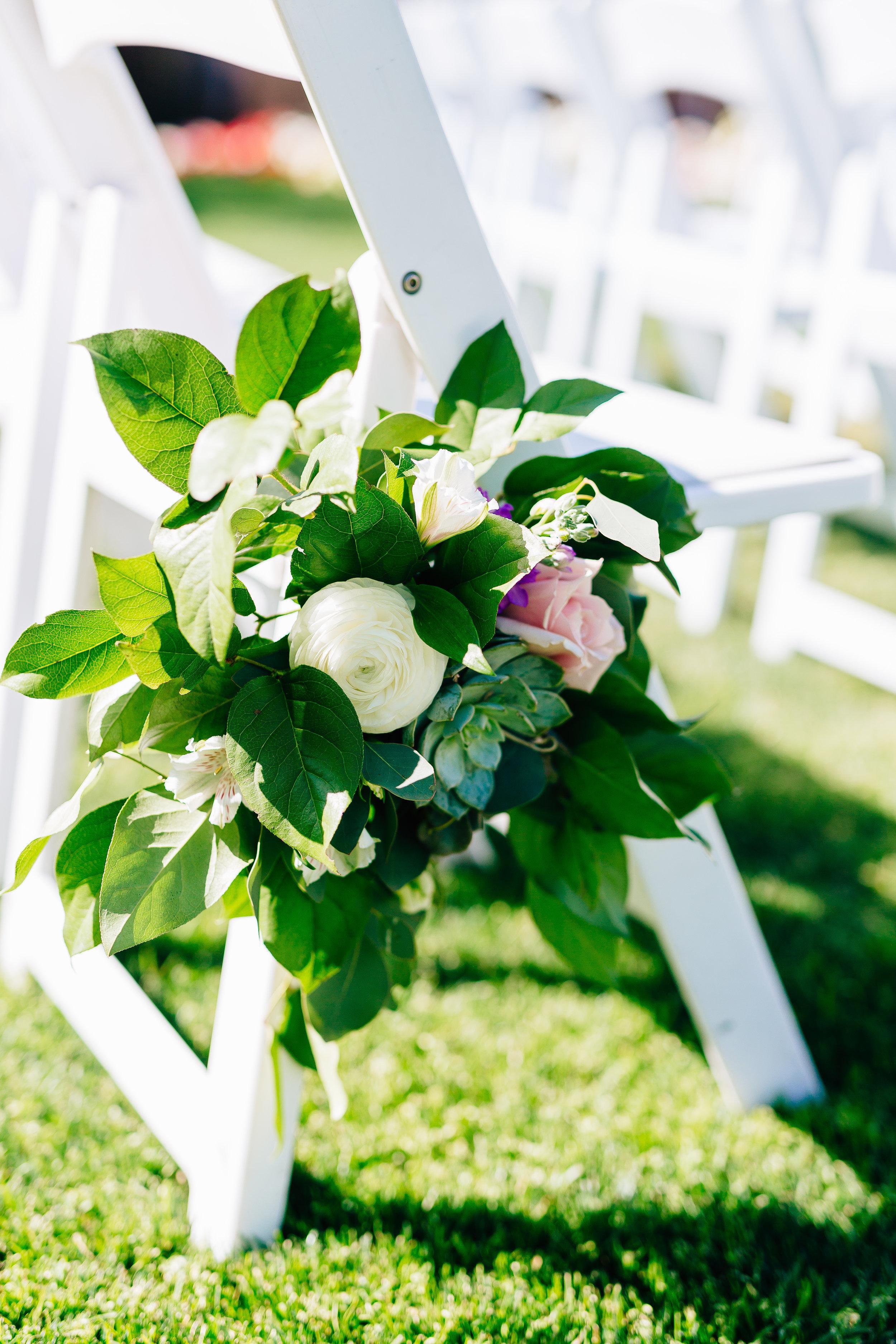 Desert Inspired Spring Wedding at Hotel Valley Ho - Chair Decor