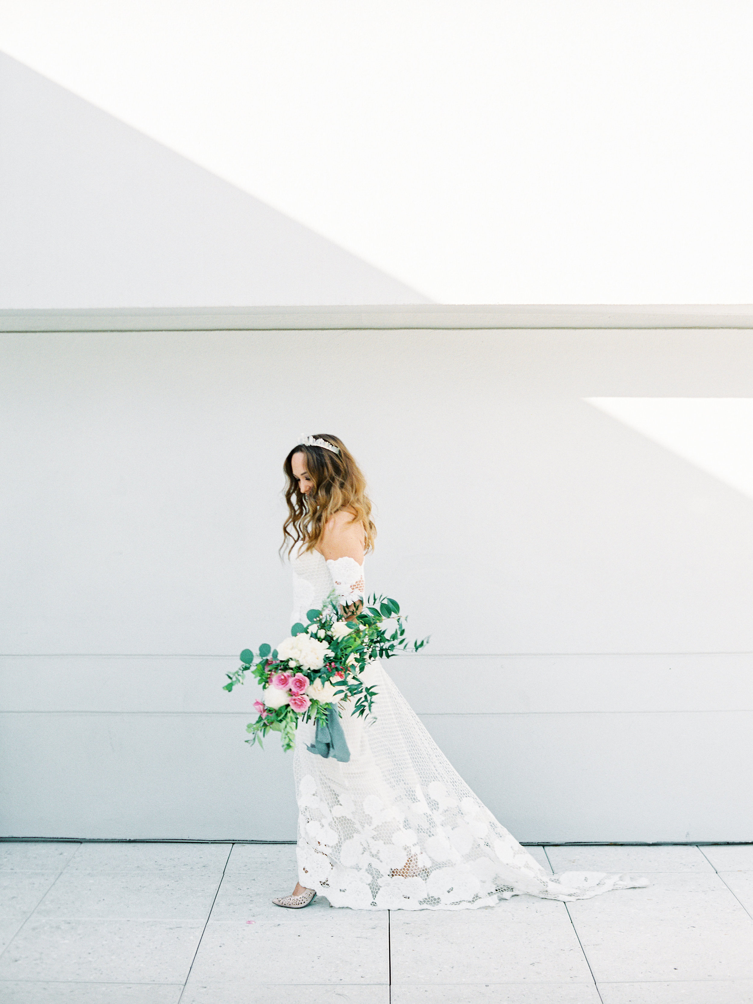 Noelle + Rich's Camby Vow Renewal - Boho Bride Style