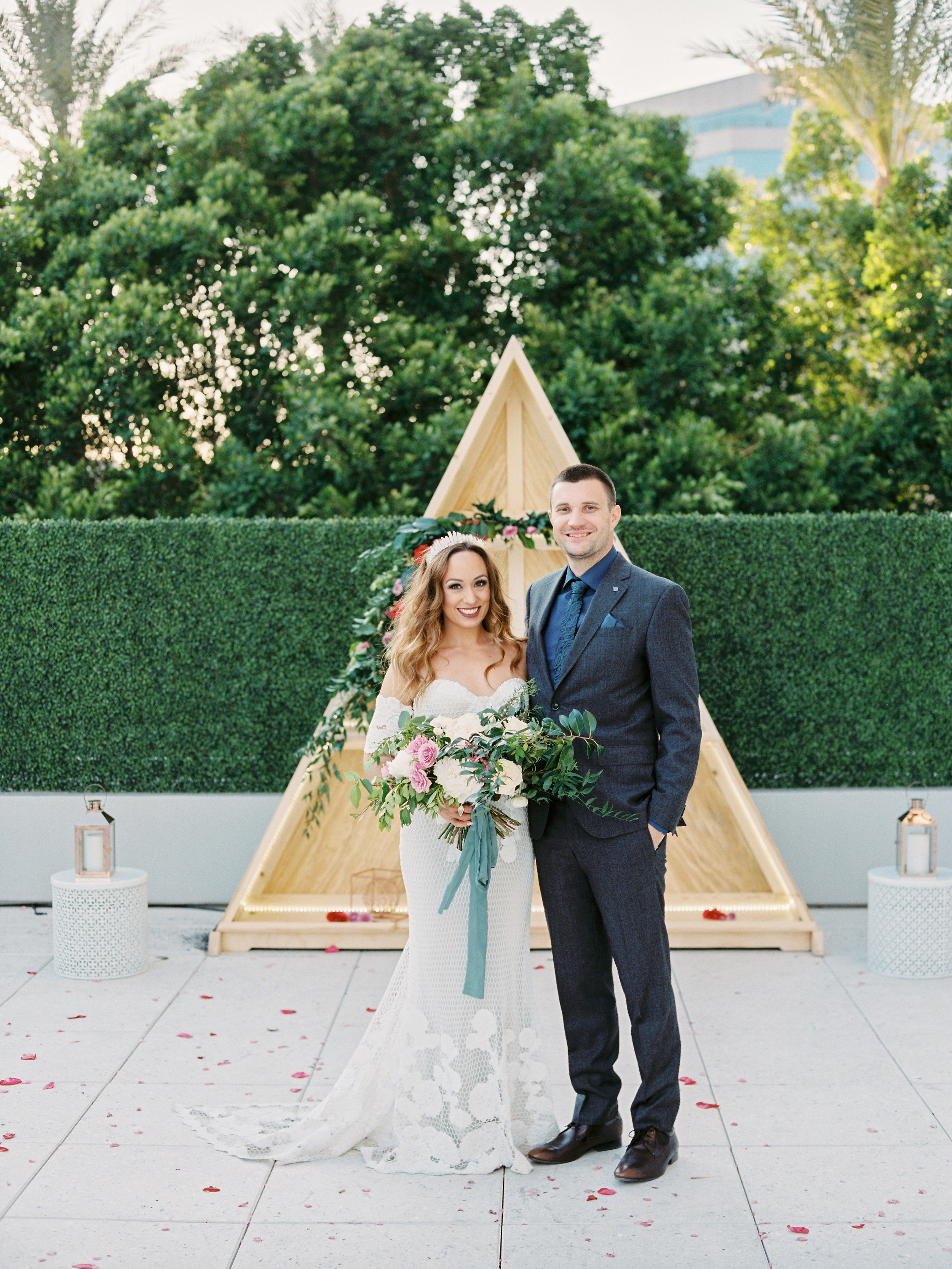 Noelle + Rich's Camby Vow Renewal - Ceremony Portraits