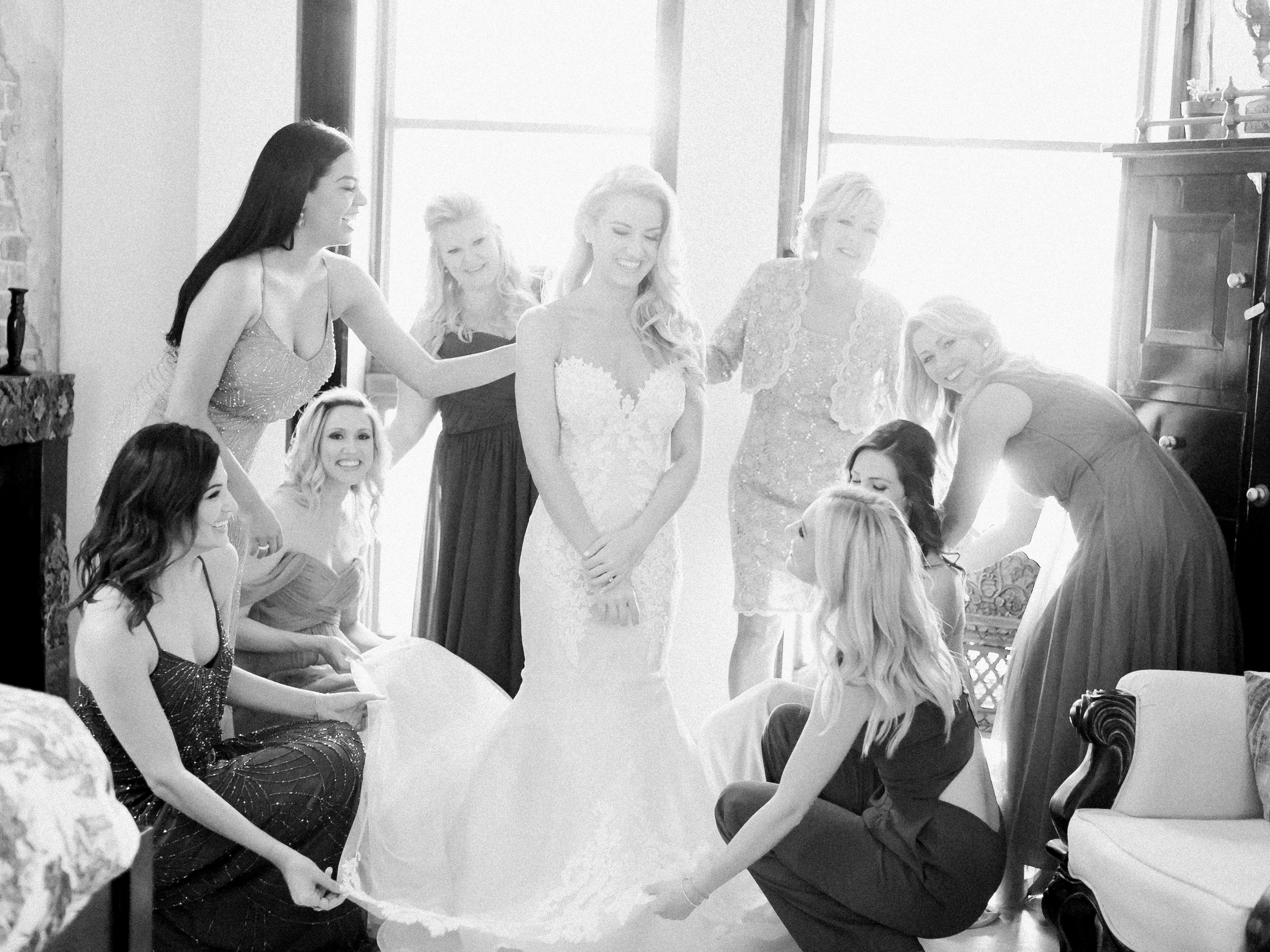 Private Estate Wedding in Phoenix - Bride Getting Ready