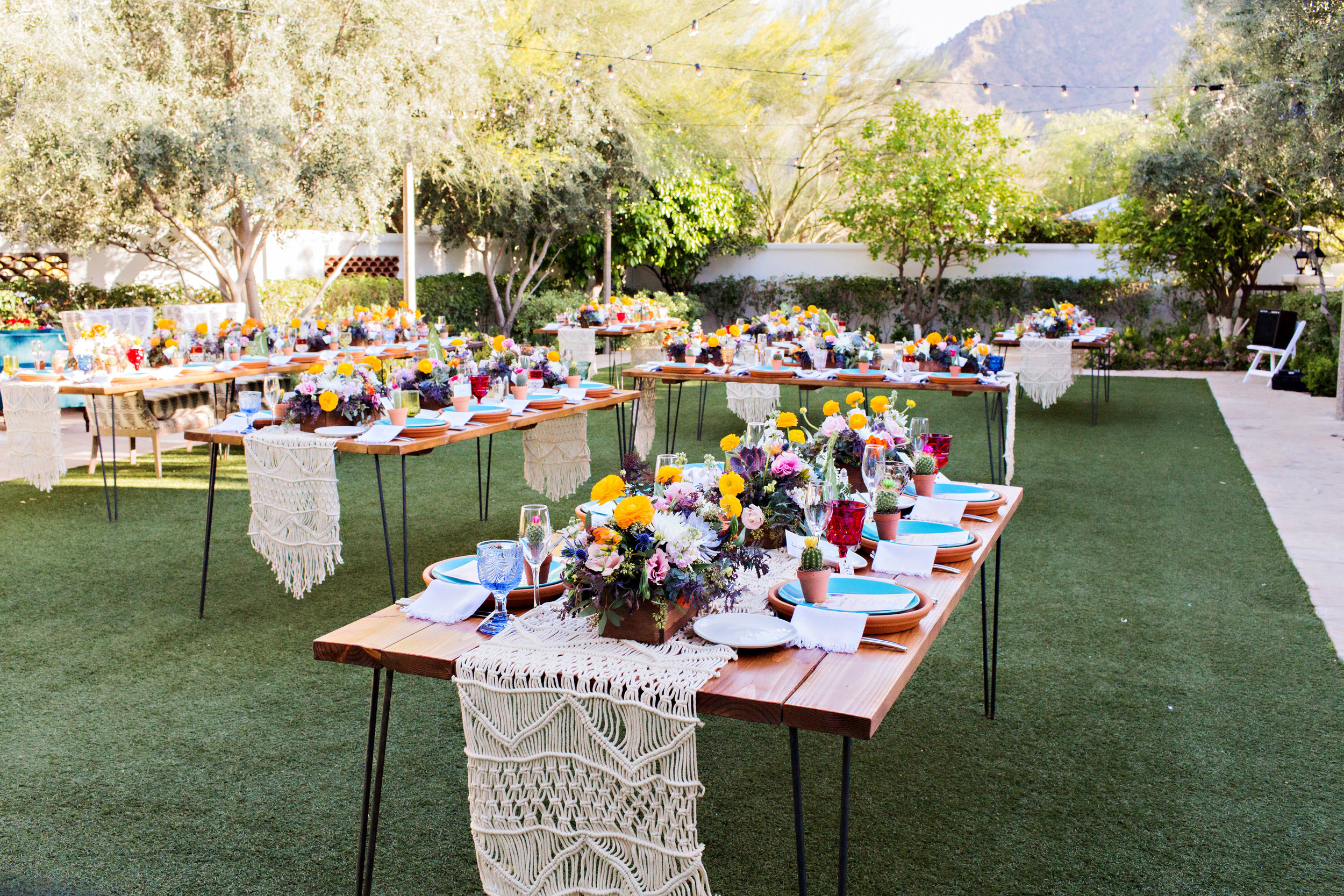 Fiesta Inspired Wedding Reception - El Chorro
