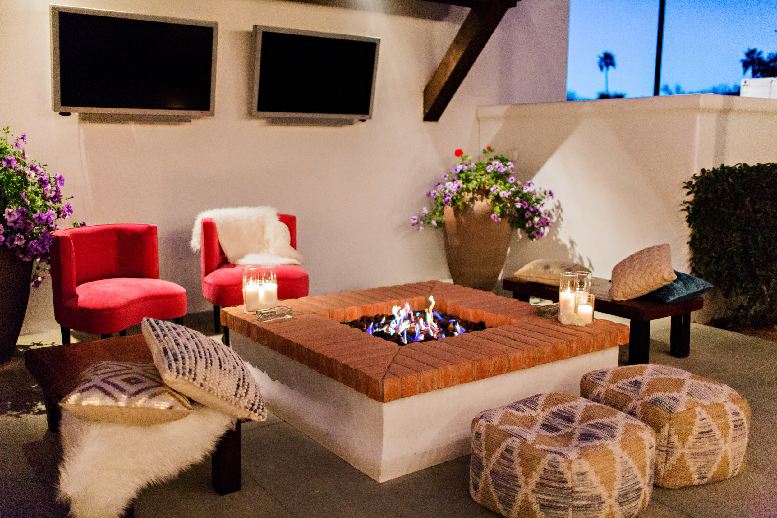 Fiesta Inspired Wedding Reception - El Chorro - Lounge