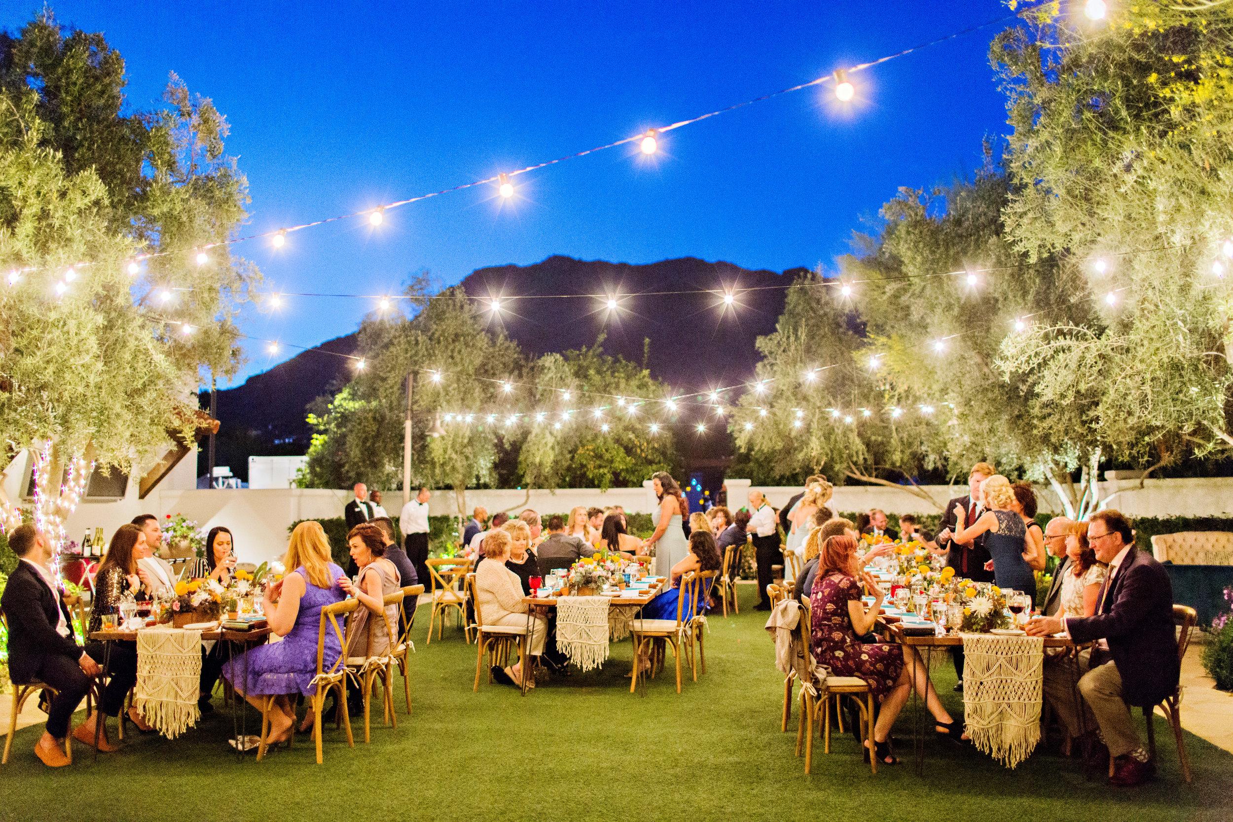Fiesta Inspired Wedding Reception - El Chorro