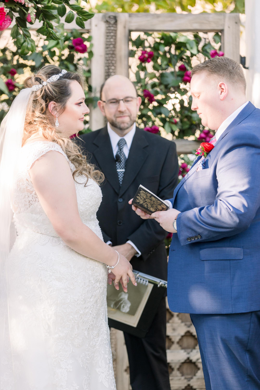 Roxanne and Brandon's El Chorro Wedding - Arizona florist Phoenix scottsdale Mesa chandler Sedona Prescott - Ceremony