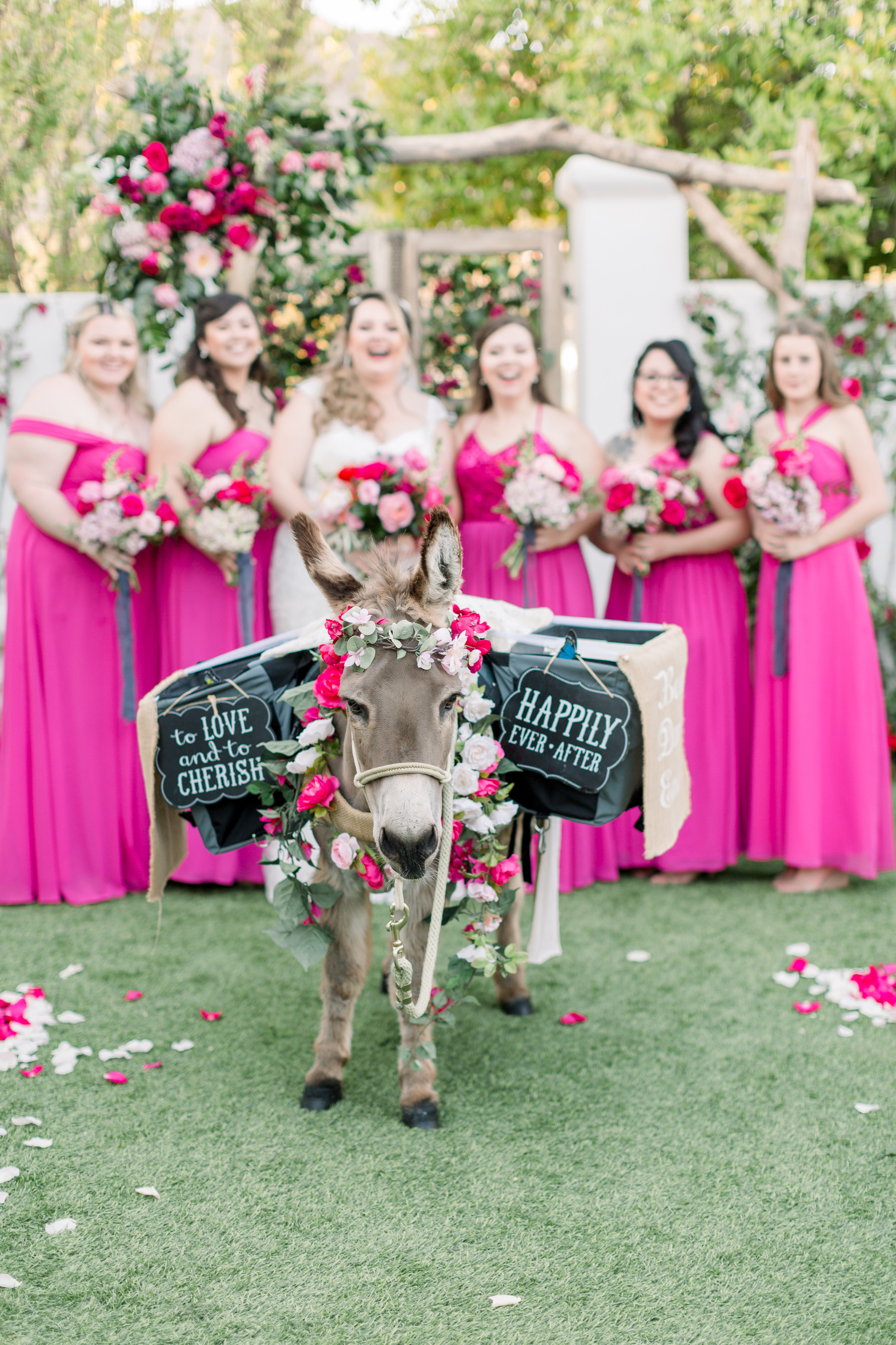 Roxanne and Brandon's El Chorro Wedding - Arizona florist Phoenix scottsdale Mesa chandler Sedona Prescott - Beer Burro