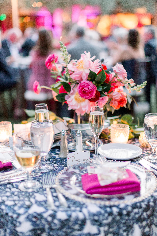 Roxanne and Brandon's El Chorro Wedding - Arizona florist Phoenix scottsdale Mesa chandler Sedona Prescott - Sweetheart Table at Reception