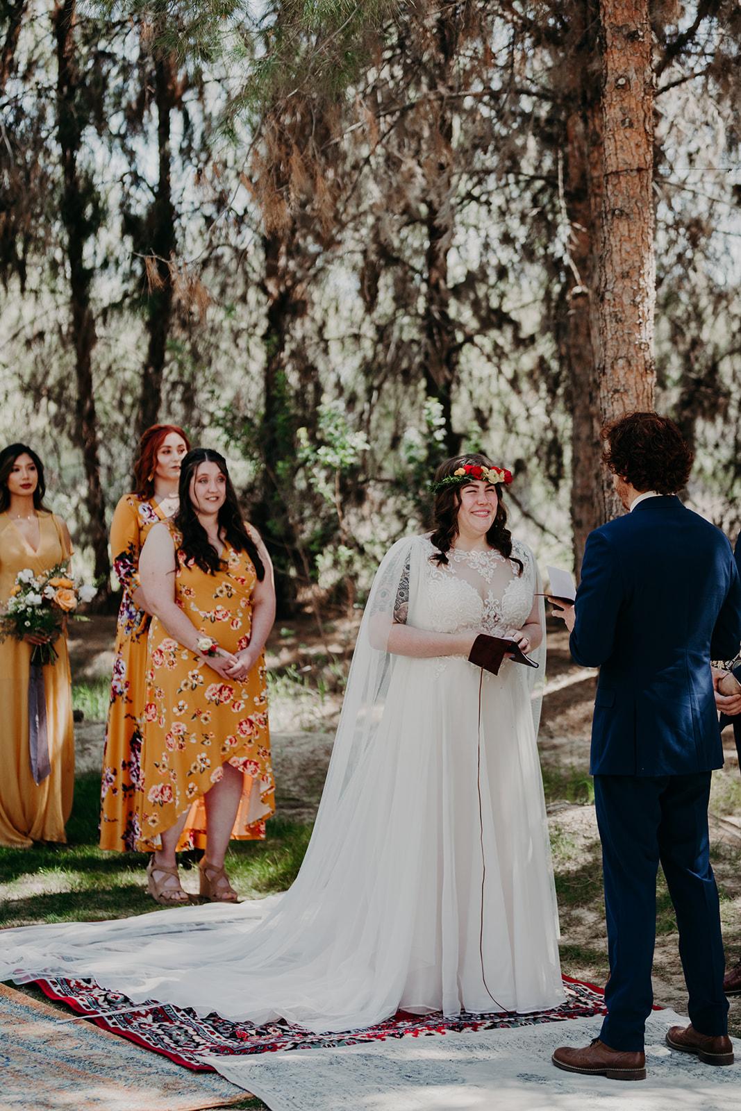 Disney Themed Wedding - Arizona florist Phoenix scottsdale Mesa chandler Sedona Flagstaff Prescott - Ceremony