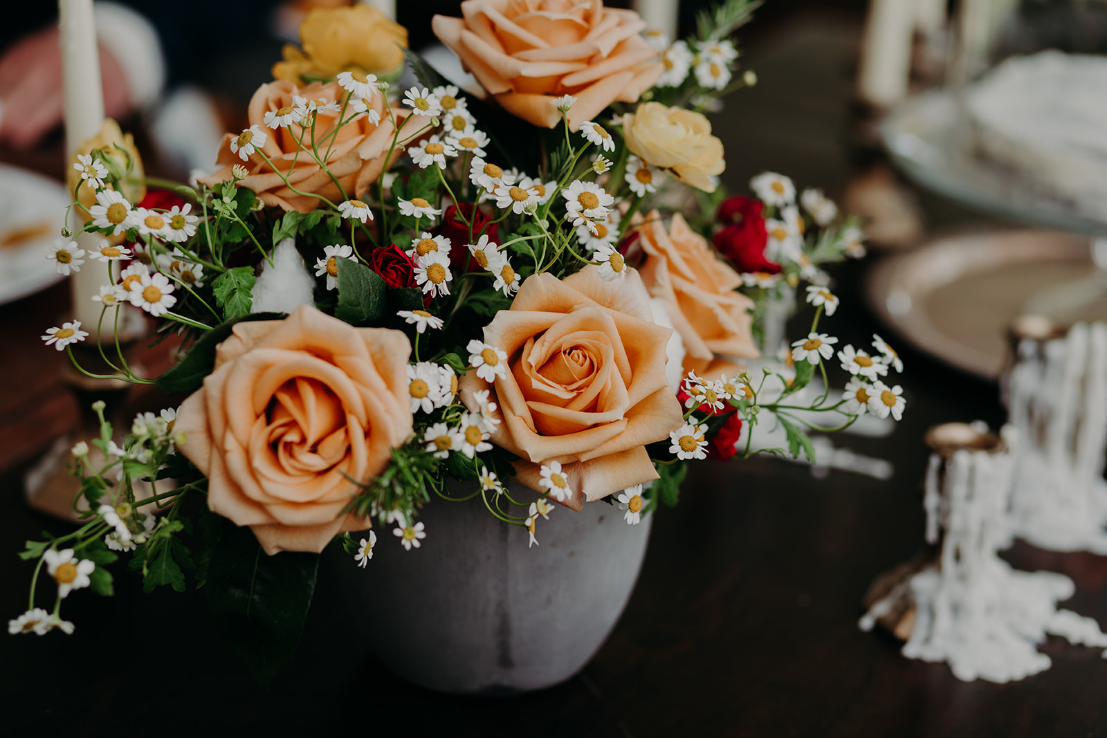 Disney Themed Wedding - Arizona florist Phoenix scottsdale Mesa chandler Sedona Flagstaff Prescott - Centerpiece Inspiration