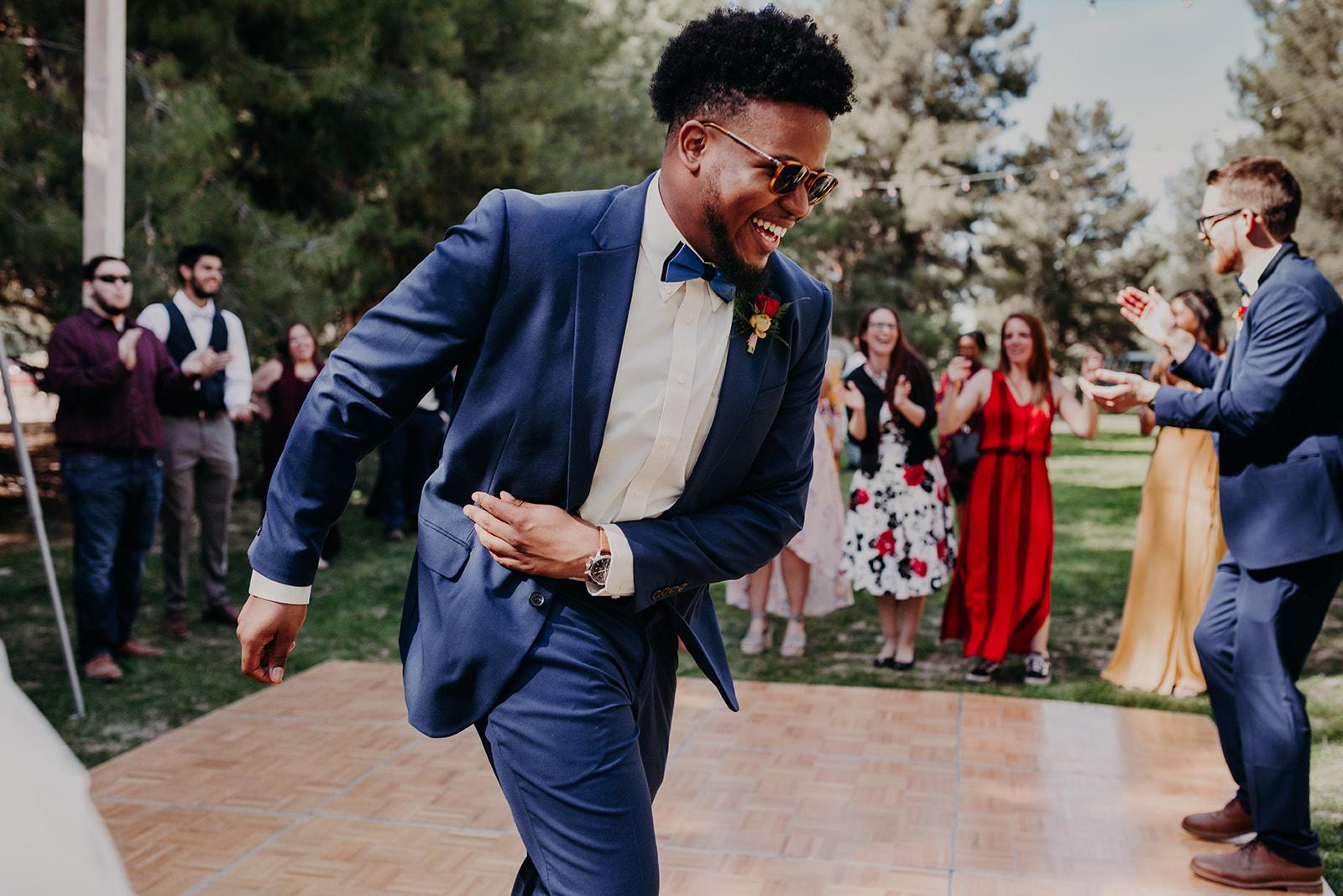 Disney Themed Wedding - Arizona florist Phoenix scottsdale Mesa chandler Sedona Flagstaff Prescott - Reception Dancing