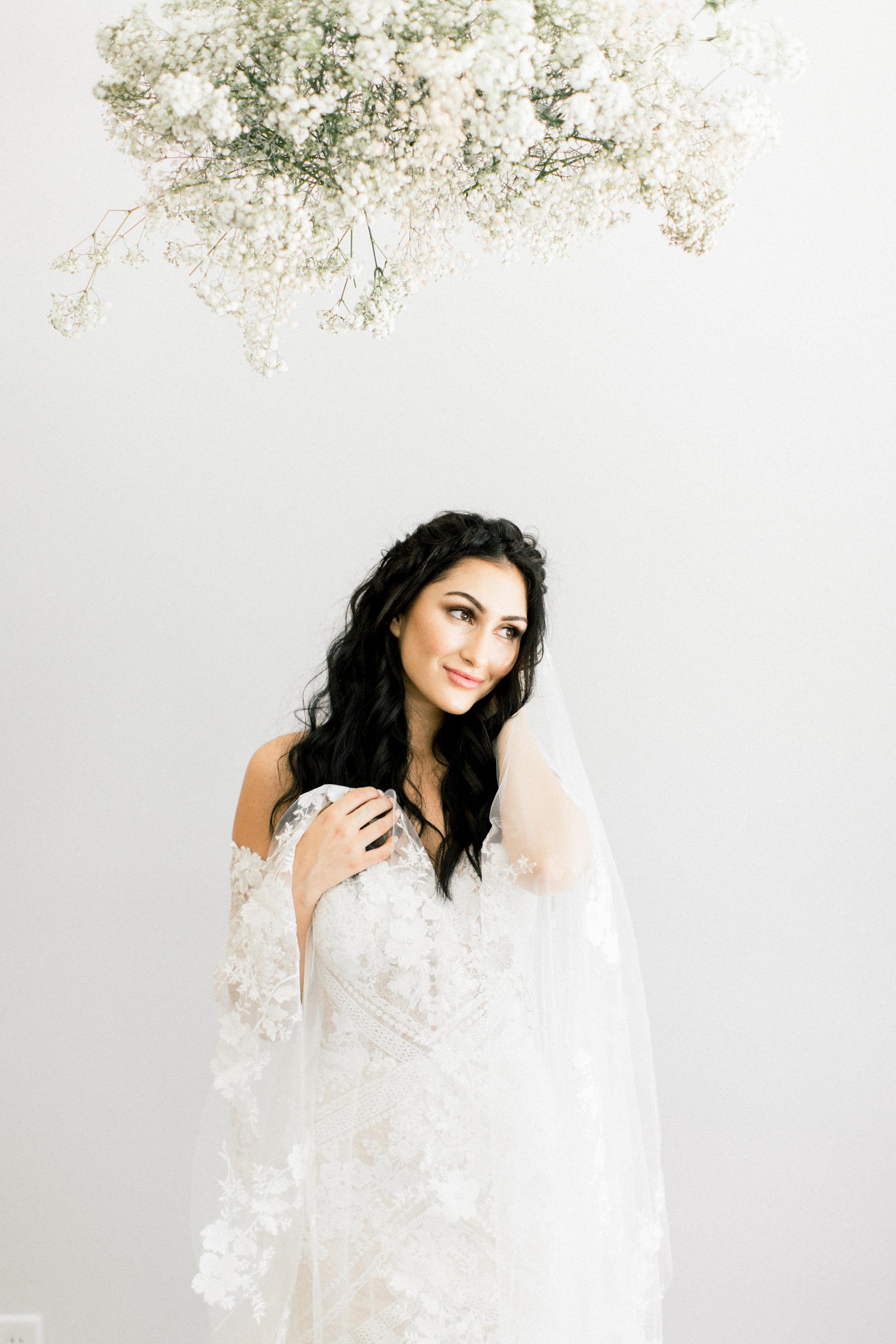 Bridal Gown Lookbook - Arizona florist Phoenix Scottsdale Sedona - Baby's Breath Cloud
