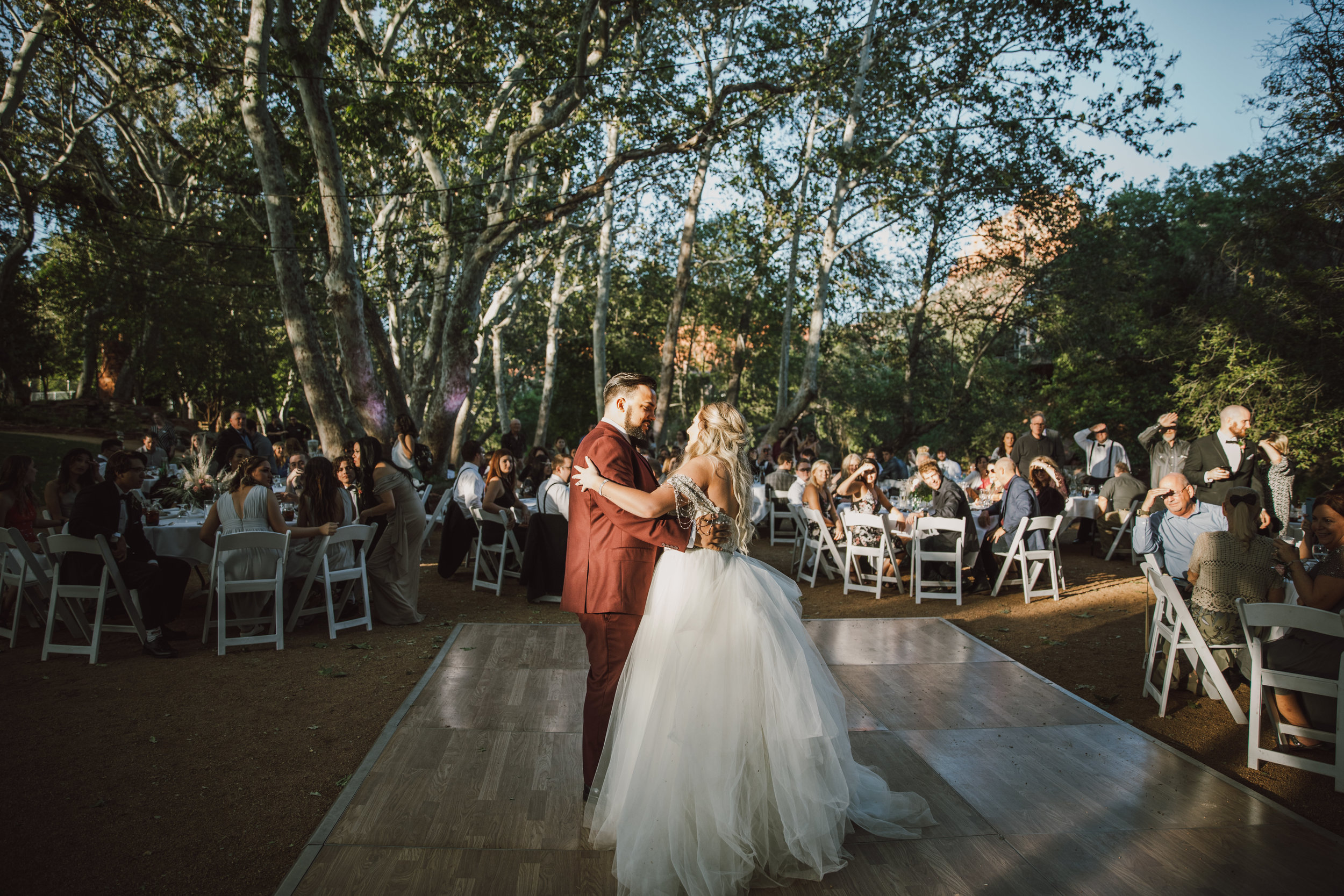 Los Abrigados Wedding - Arizona Florist Phoenix Scottsdale Sedona - Dance Floor