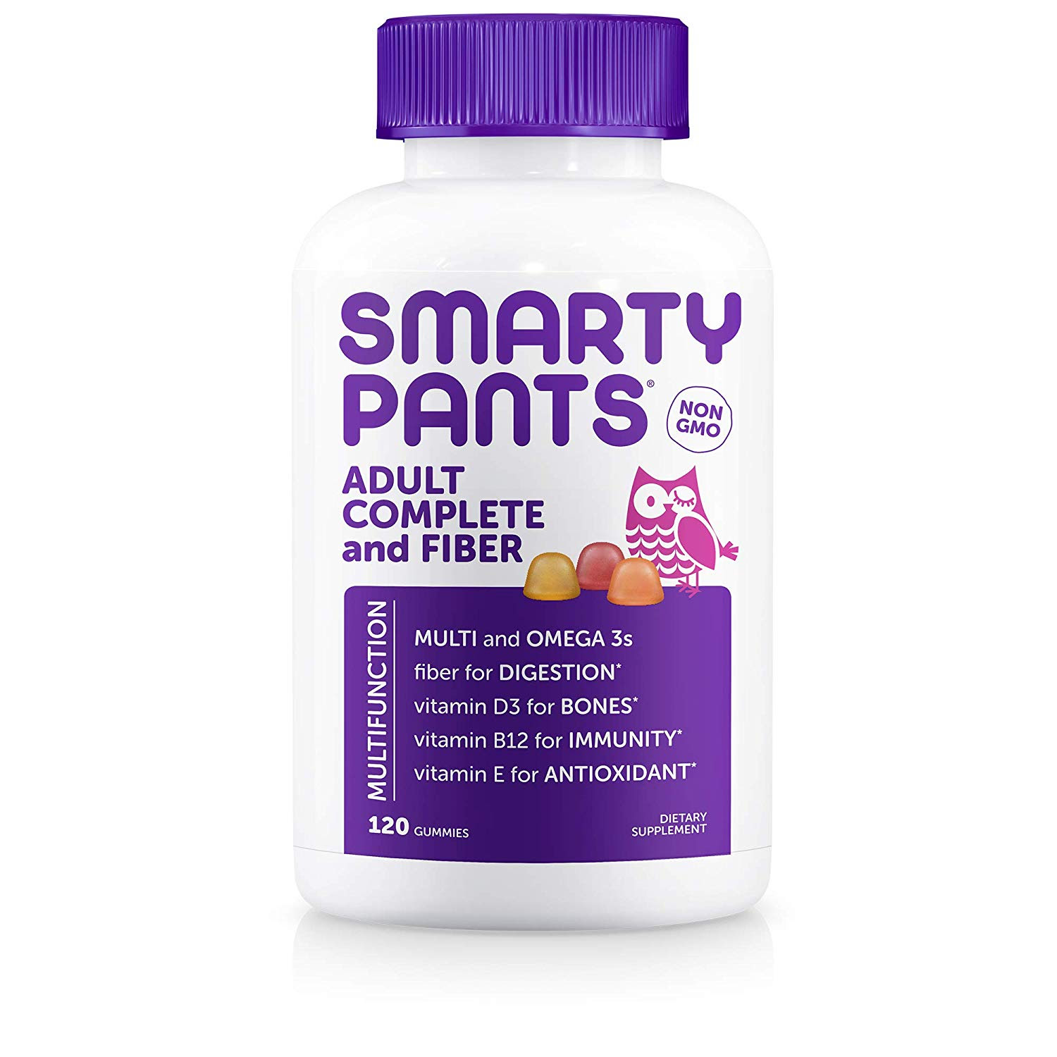 SmartyPants Adult Complete and Fiber Daily Gummy Vitamins, 120 Count, 5/28/2020. - ASIN: B01MQVDZR7CamelCamelCamelKeepa#3169 in MultivitaminsPrice: $9.94 each including Fba Fox PrepMOQ-100