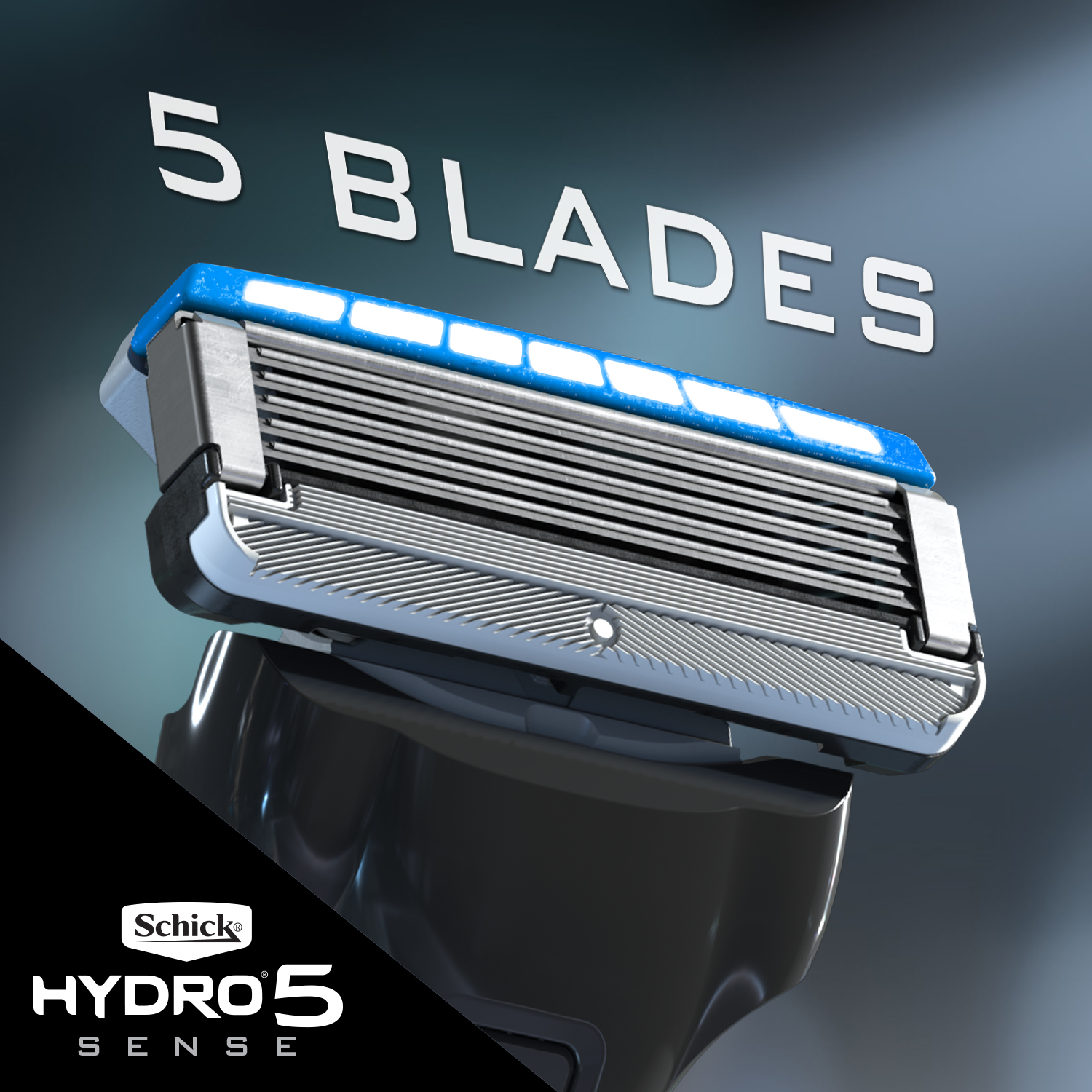 Ultra Glide Blades with Skin Guards - Our 5 Ultra Glide Blades feature breakthrough skin guards at the top of each blade, doubling the number of points of contact between the blades and skin between blades—all to help control the skin flow to reduce irritation.