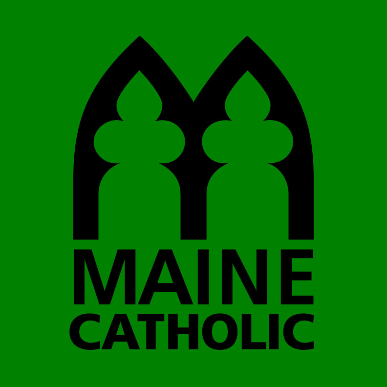 Maine Catholic Logo