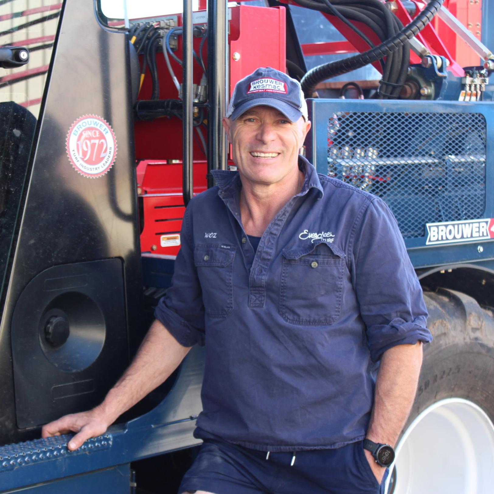 Warren Barker   Machinery Manager