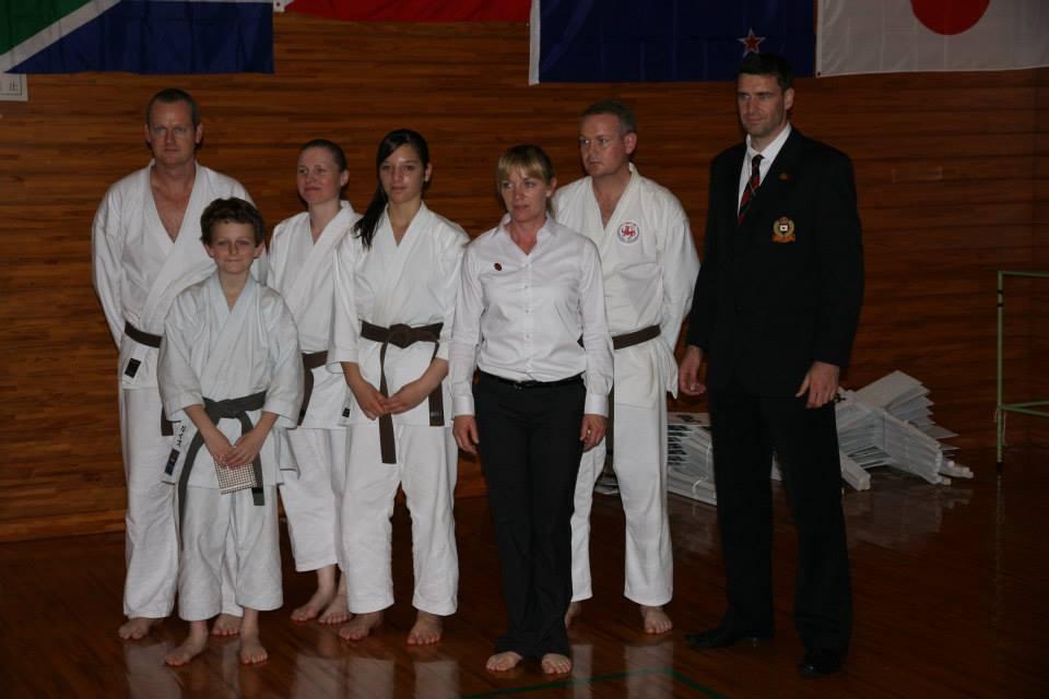 From left: Brad Stevens, Lewis Pettiford, Julia Tanner, Paige Angus, Jenny Nixey, Cameron Prescott, Morgan Dilks