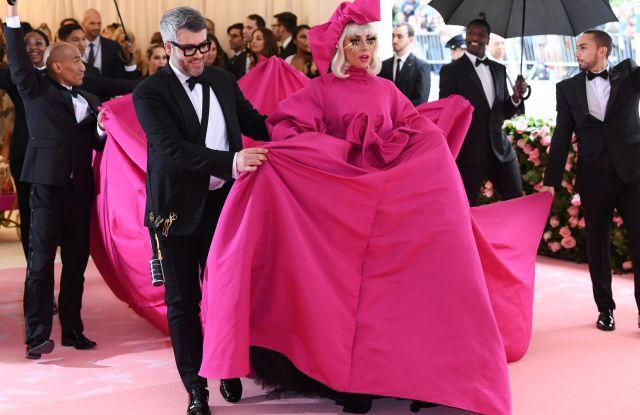 Brandon Maxwell y Lady Gaga