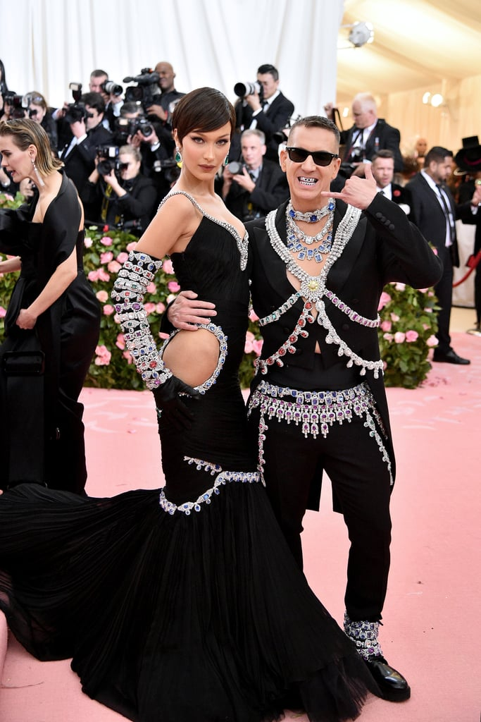 Jeremy Scott y Bella Hadid