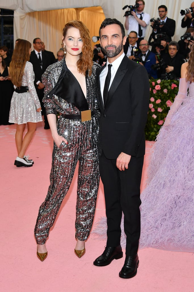 Nicholas Ghesquière y Emma Stone