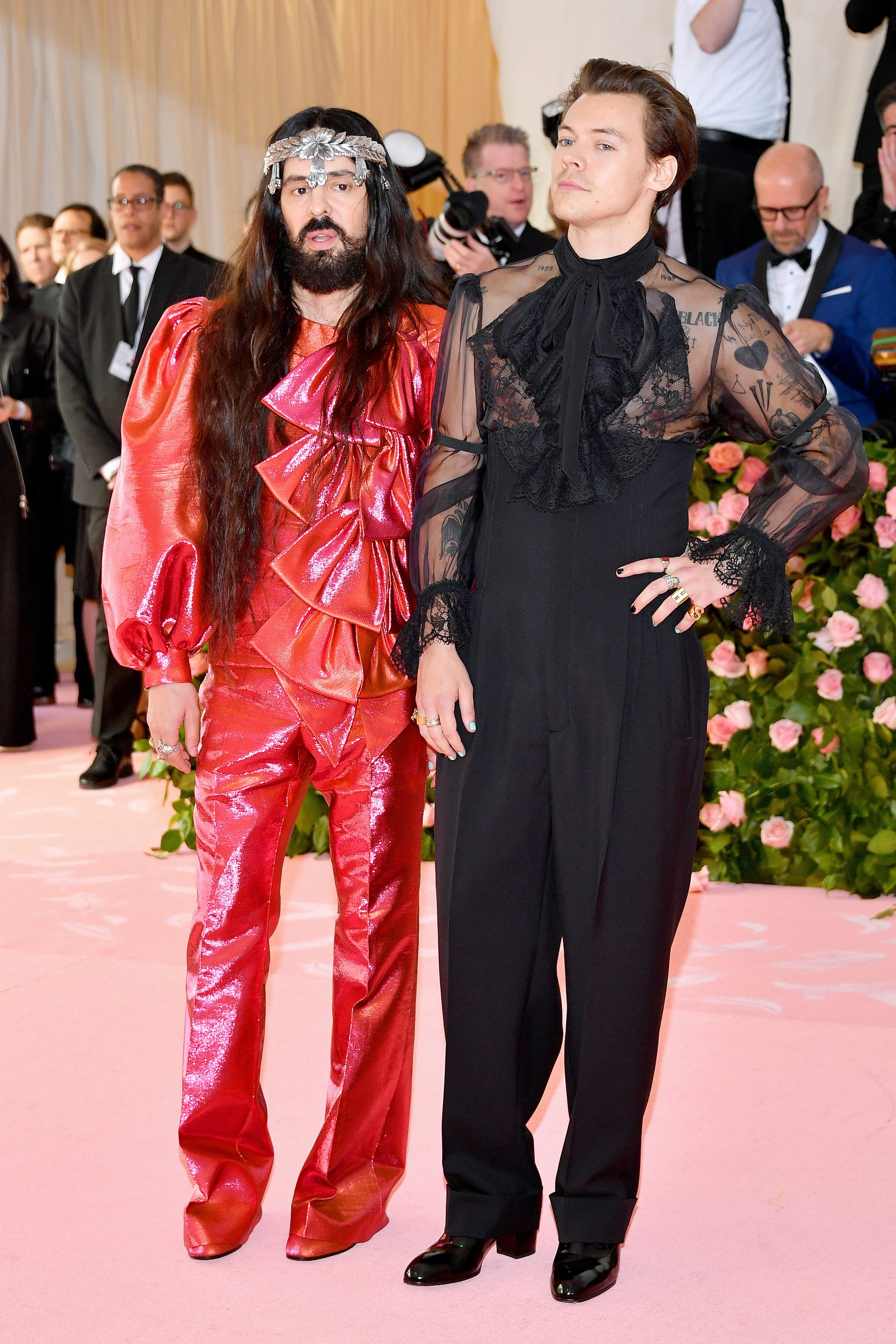 Alessandro Michele y Harry Styles