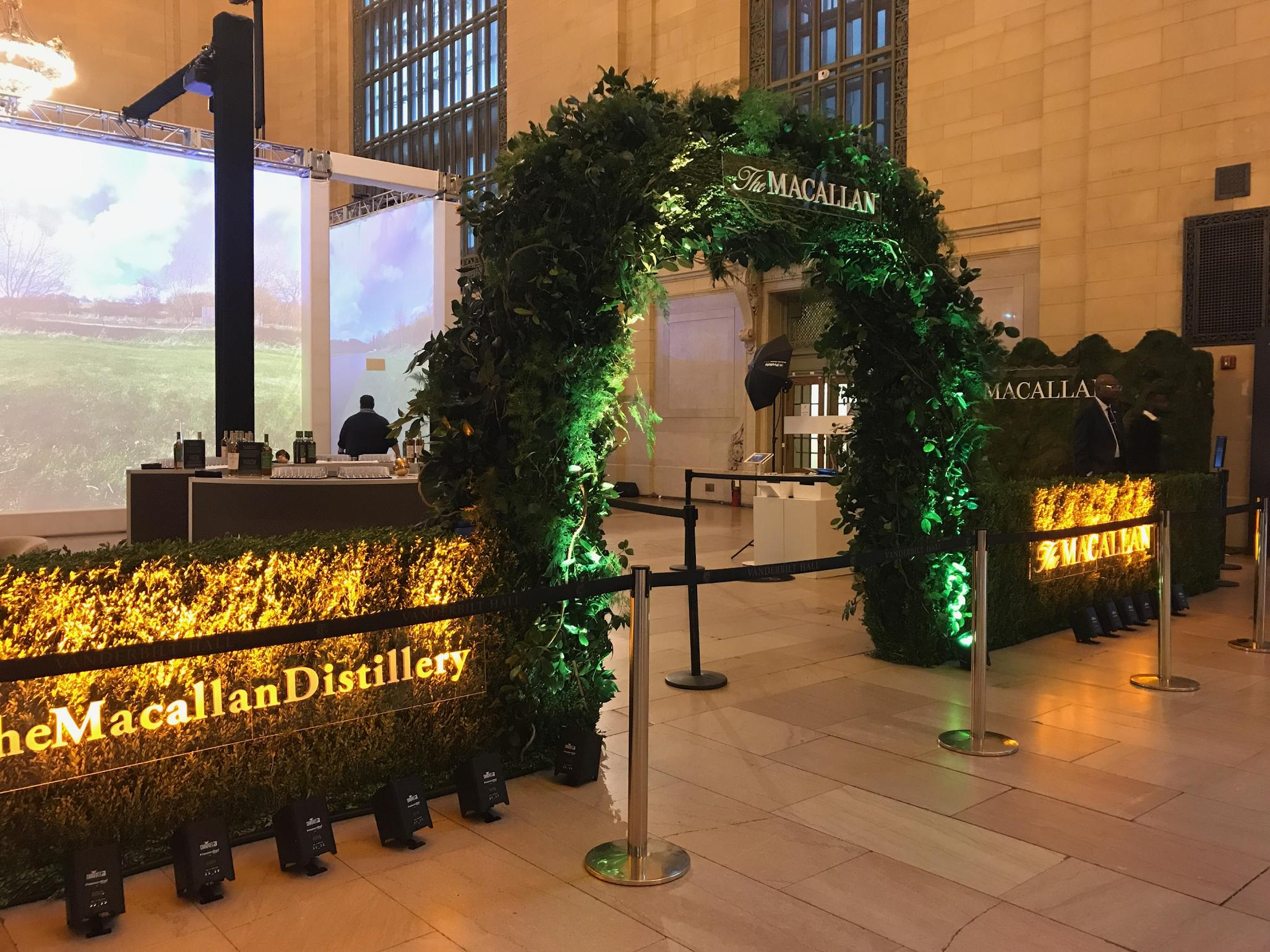 Macallan at Grand Central Station by Brenton Wolf 2018