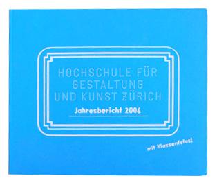 """Jahrbuch 2004 ZHdK"""