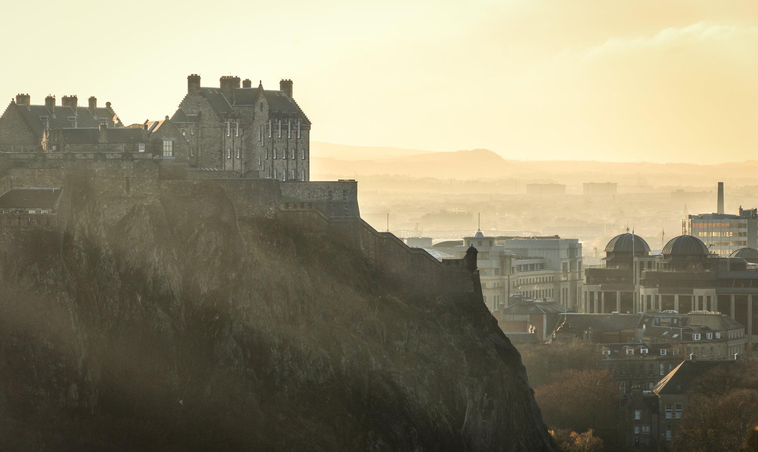 Edinburgh Castle, photo by Gary Campbell-Hall