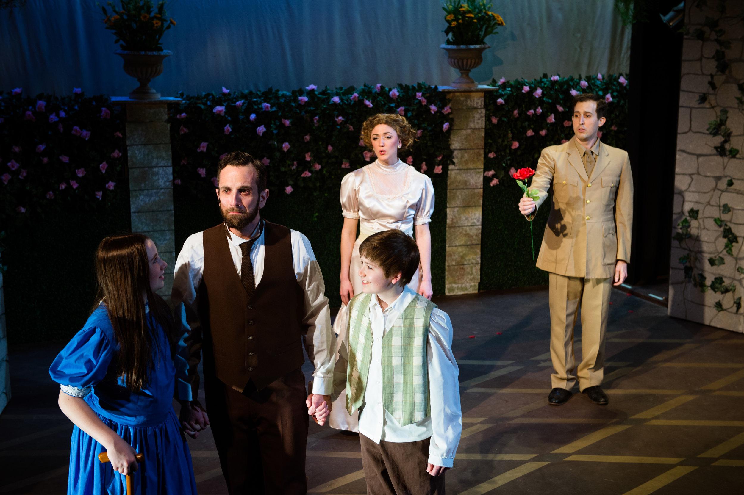"""As Captain Albert Lennox in """"The Secret Garden"""", directed by Evan Hoffman."""