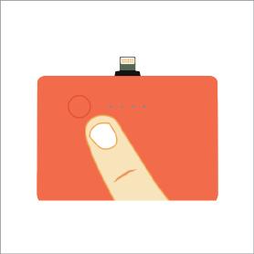 4. 開啟JucePac的電源,充電完畢後,歸還到任何JuceBox內