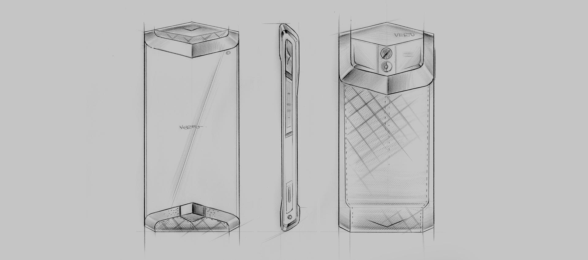 Vertu Venus | Development sketches