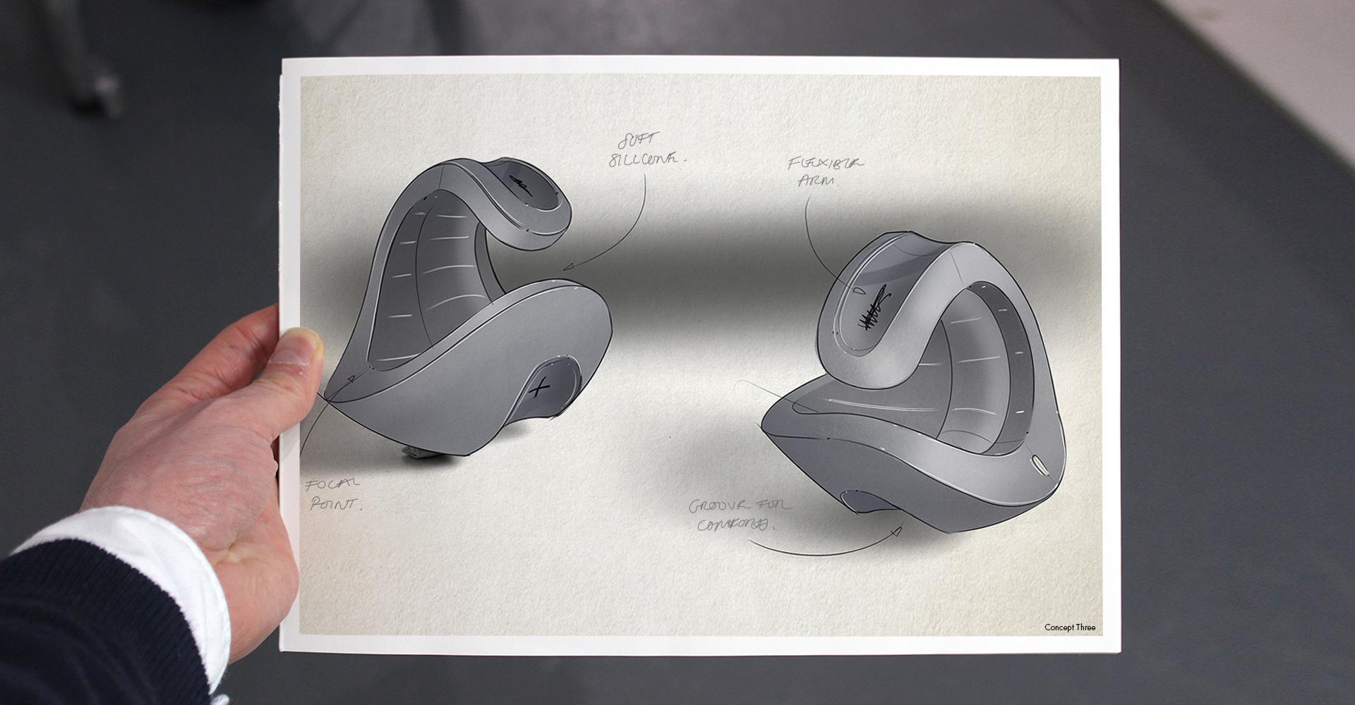 Pocket Pulse | Core concept digital sketch
