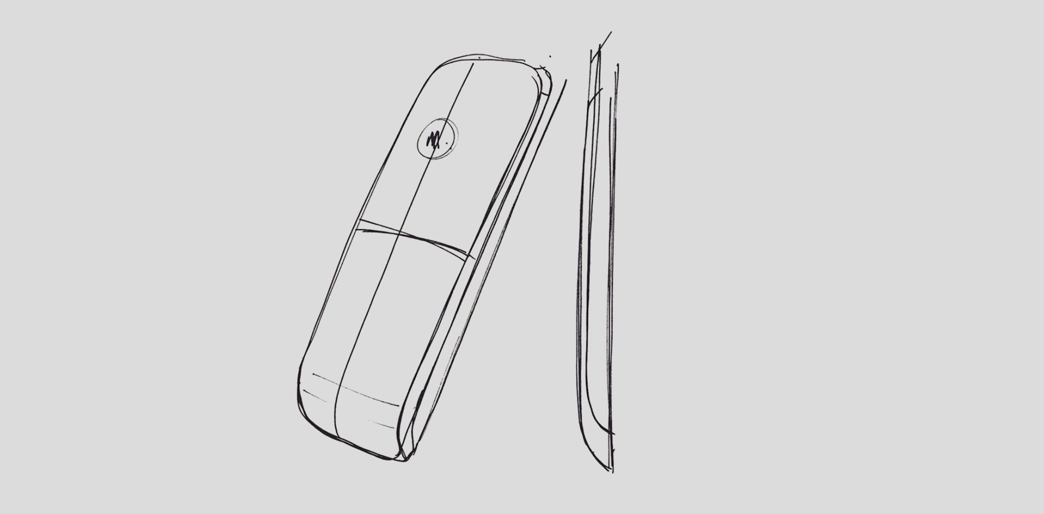 Motorola IT.6 | Initial sketch concept of IT.6