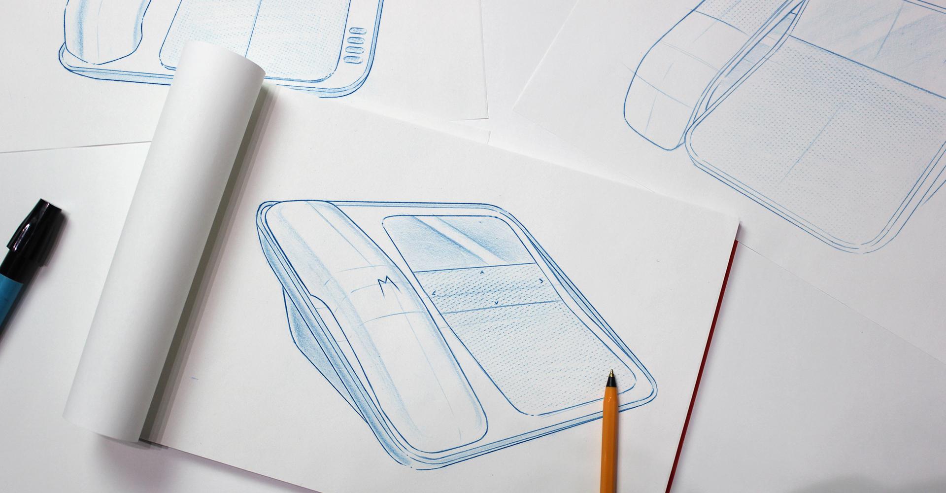 Motorola Office | Concept sketch