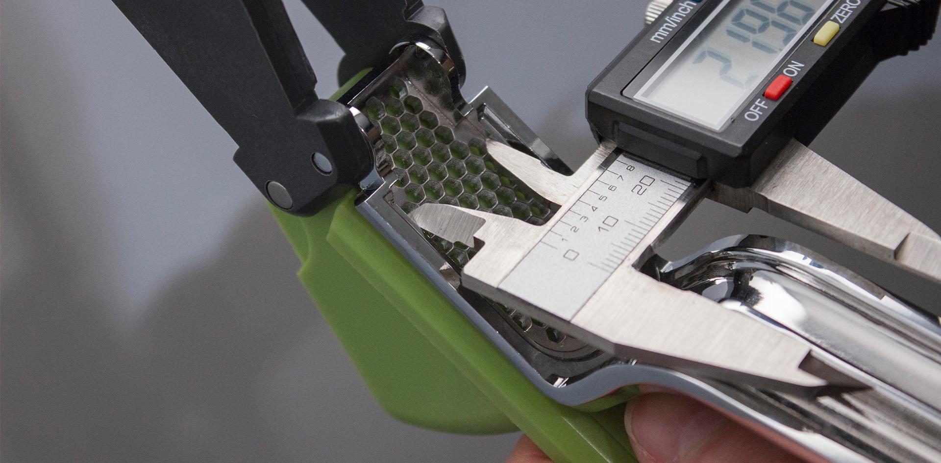 Zeal Garlic press |Measuring and validating tooling