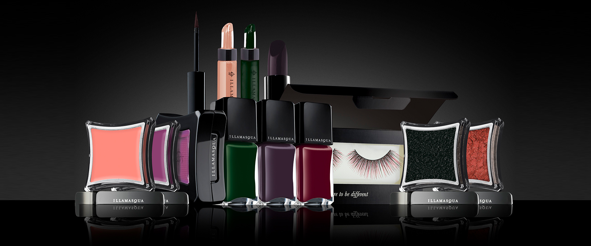 Illamasqua - curventa - makeup - range - brand - beauty - lipstick - foundation - nail polish