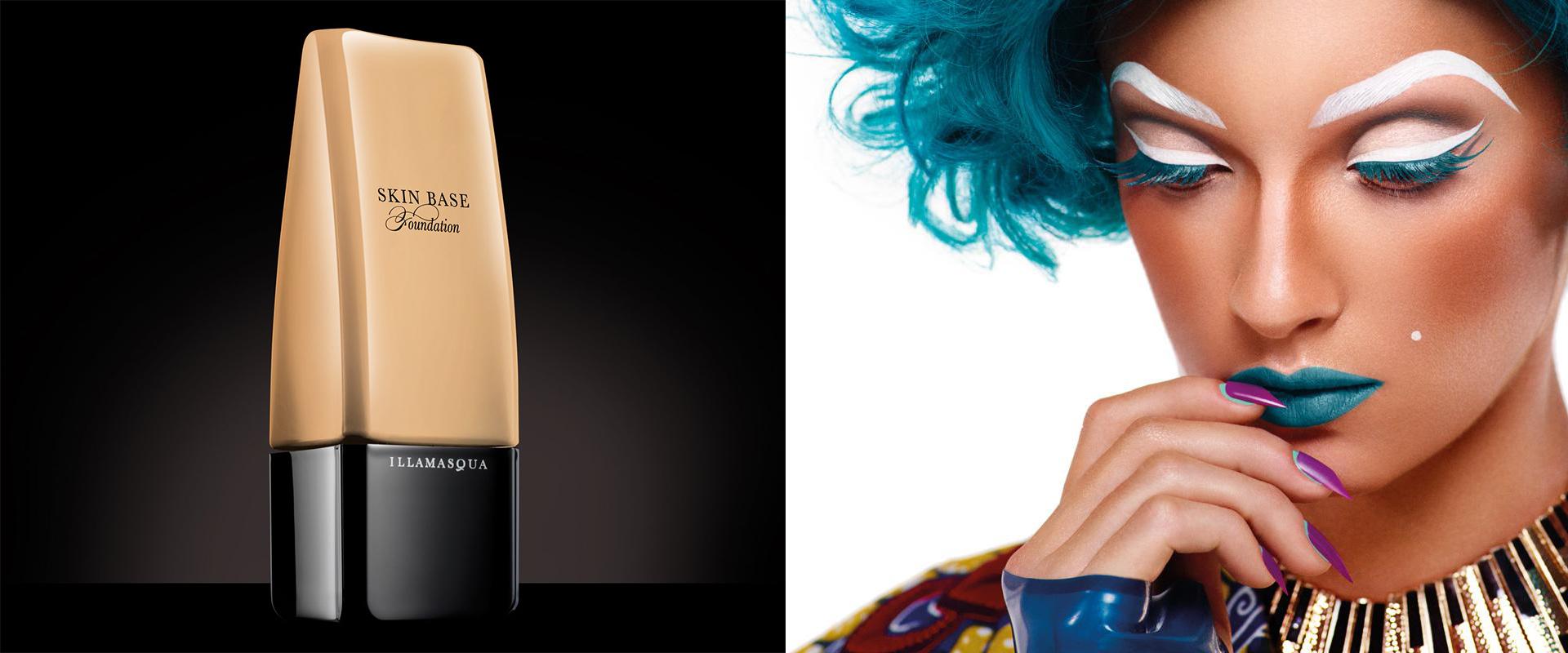 Illamasqua - curventa - makeup - range - brand - beauty - foundation - creative - skin base