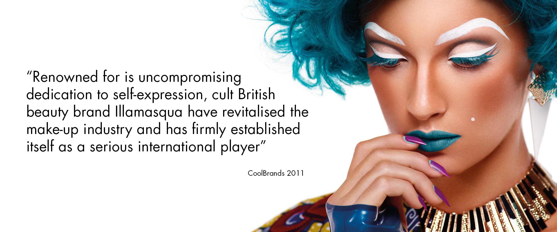 Illamasqua - curventa - makeup - range - brand - beauty - photography - coolbrands - cult brand