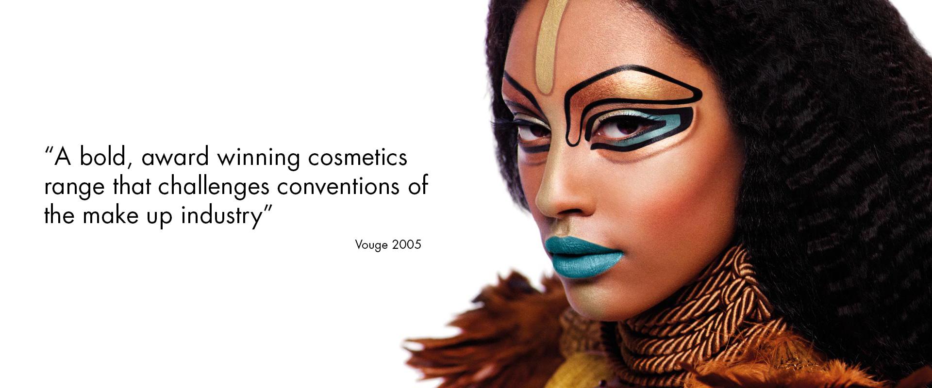 Illamasqua - curventa - makeup - range - brand - beauty - photography - coolbrands - cult brand - vogue - bold - cosmetics