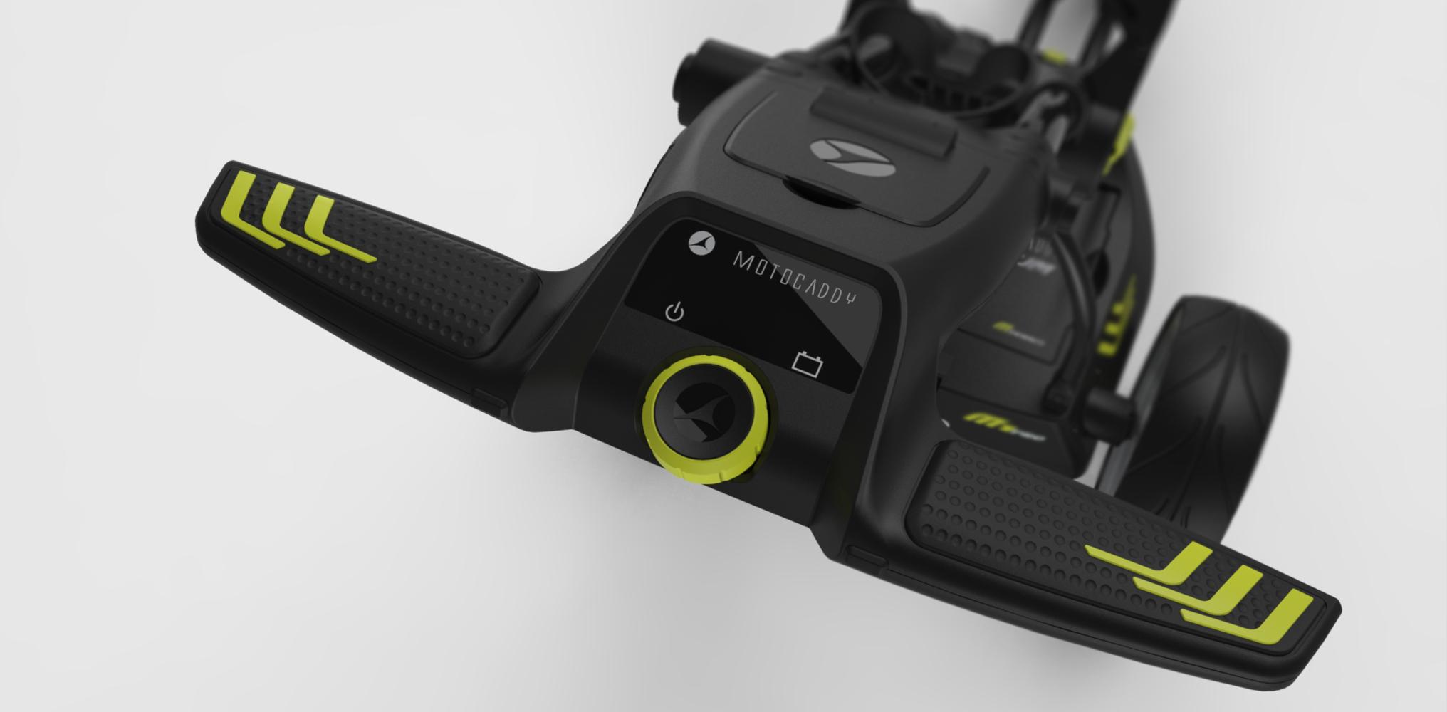 Motocaddy M1 Pro | Ergonomic 'paddle' bars