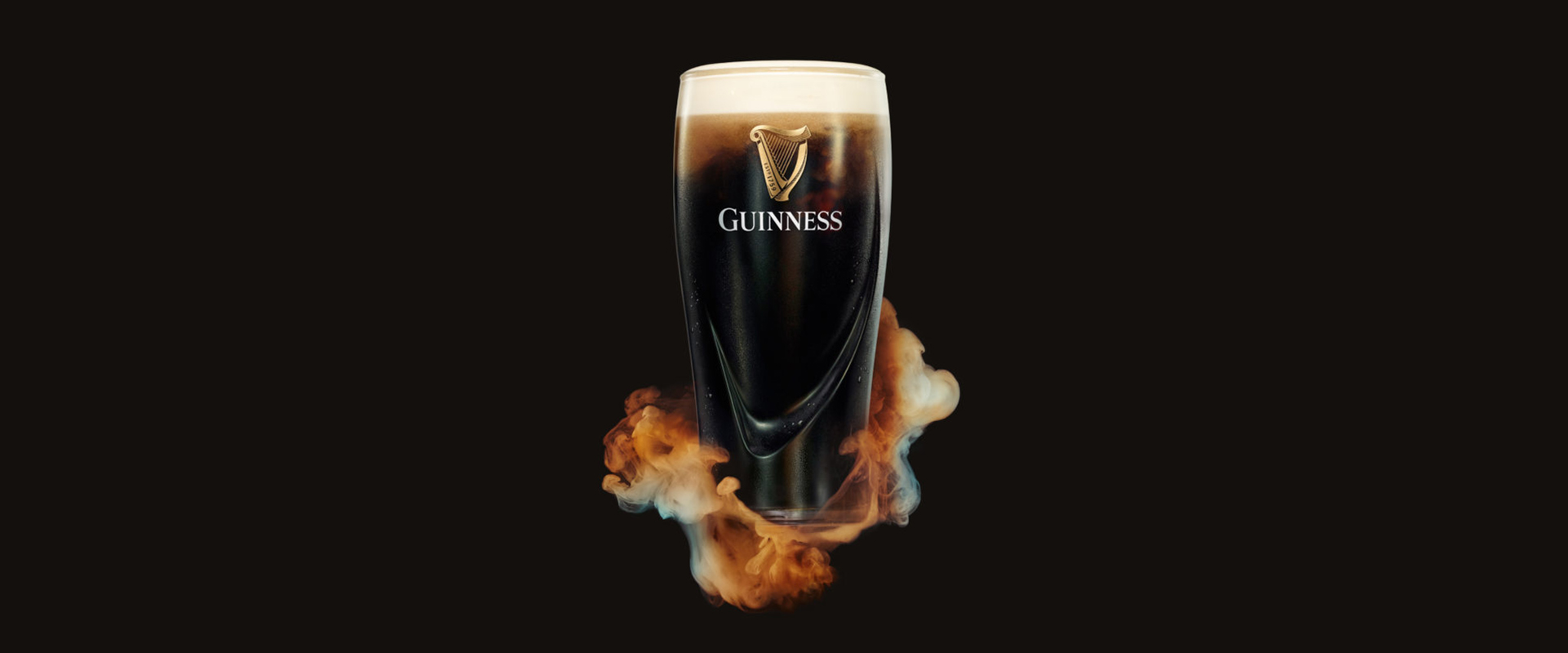Guinness - The surge pint glass - beer - stout - head - guinness logo - pour guinness