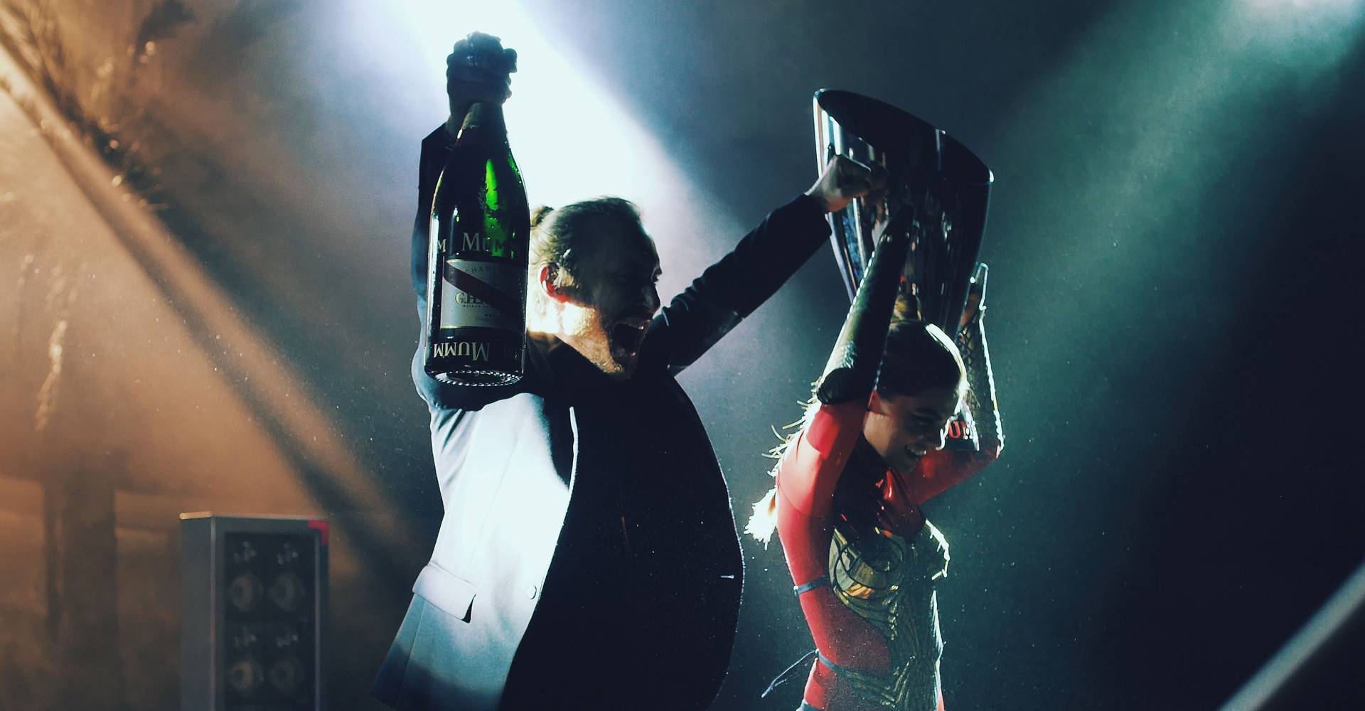 Mumm Champagne   Launched with David Guetta